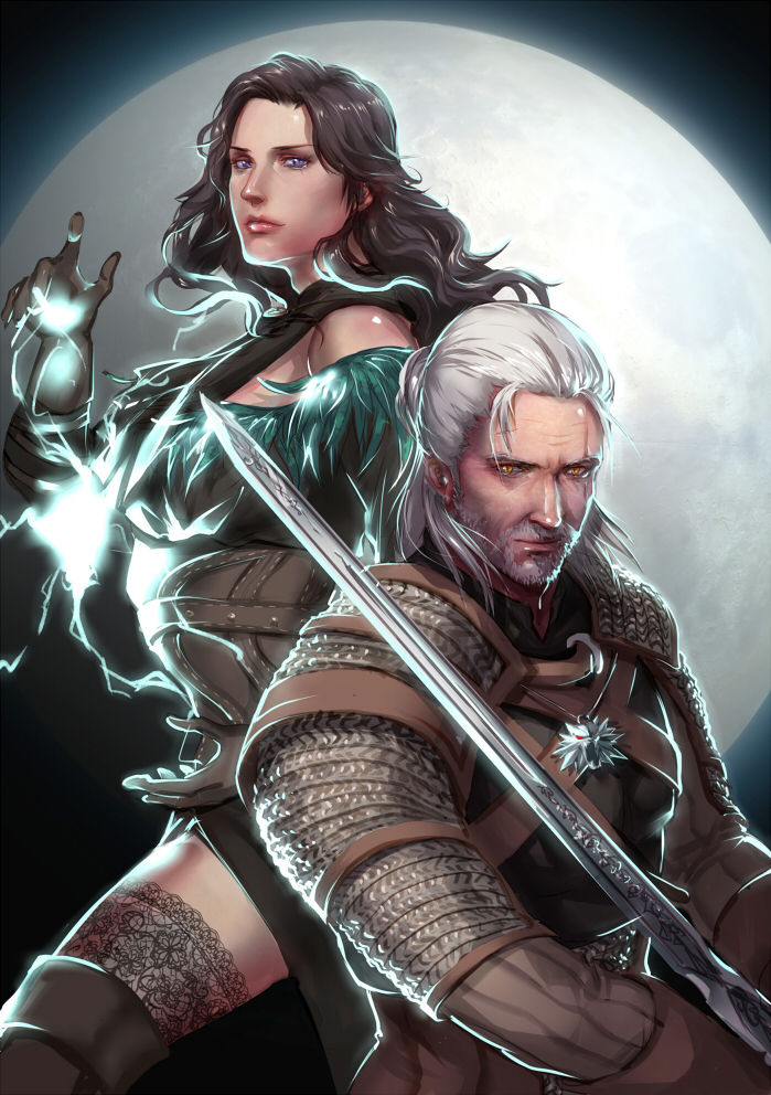 _the_witcher_3__geralt_and_yennefer_by_eilinna-daerx3p.jpg - Witcher 3: Wild Hunt, the