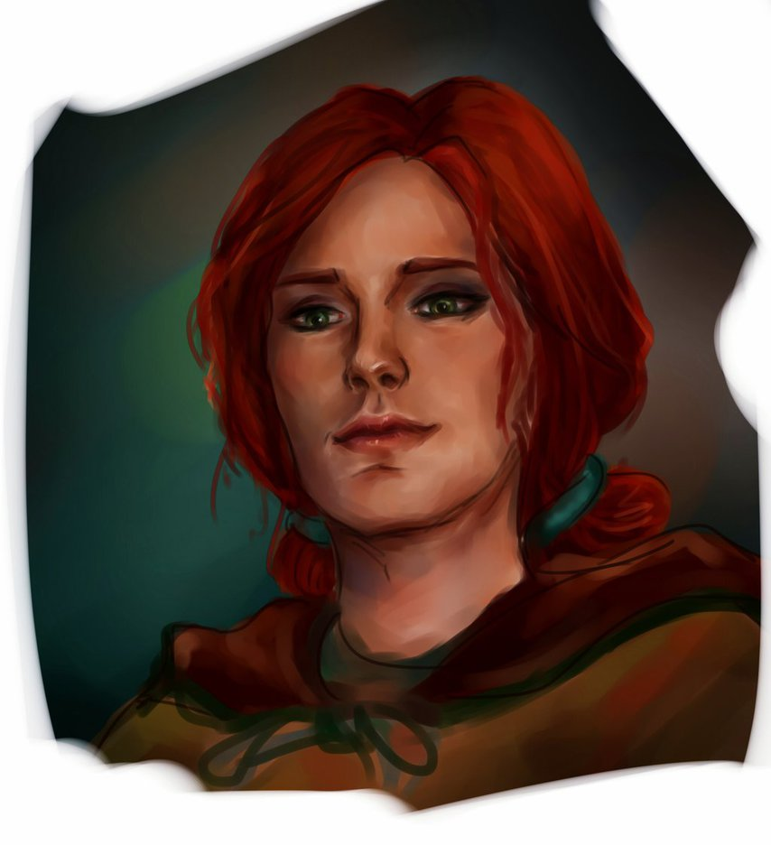 triss_by_shersann-d8xoxq1.jpg - Witcher 3: Wild Hunt, the