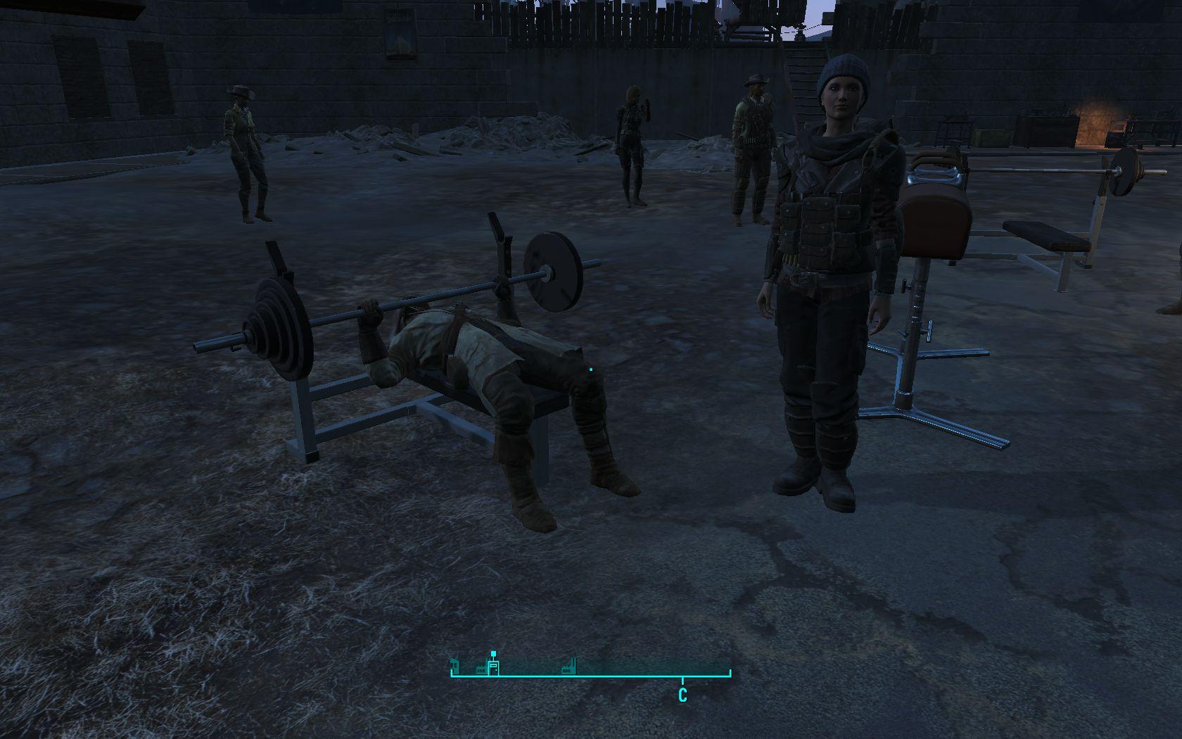 Престон качает - Fallout 4