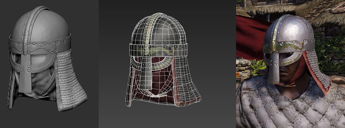 Шлем - Mount & Blade 2: Bannerlord Рендер