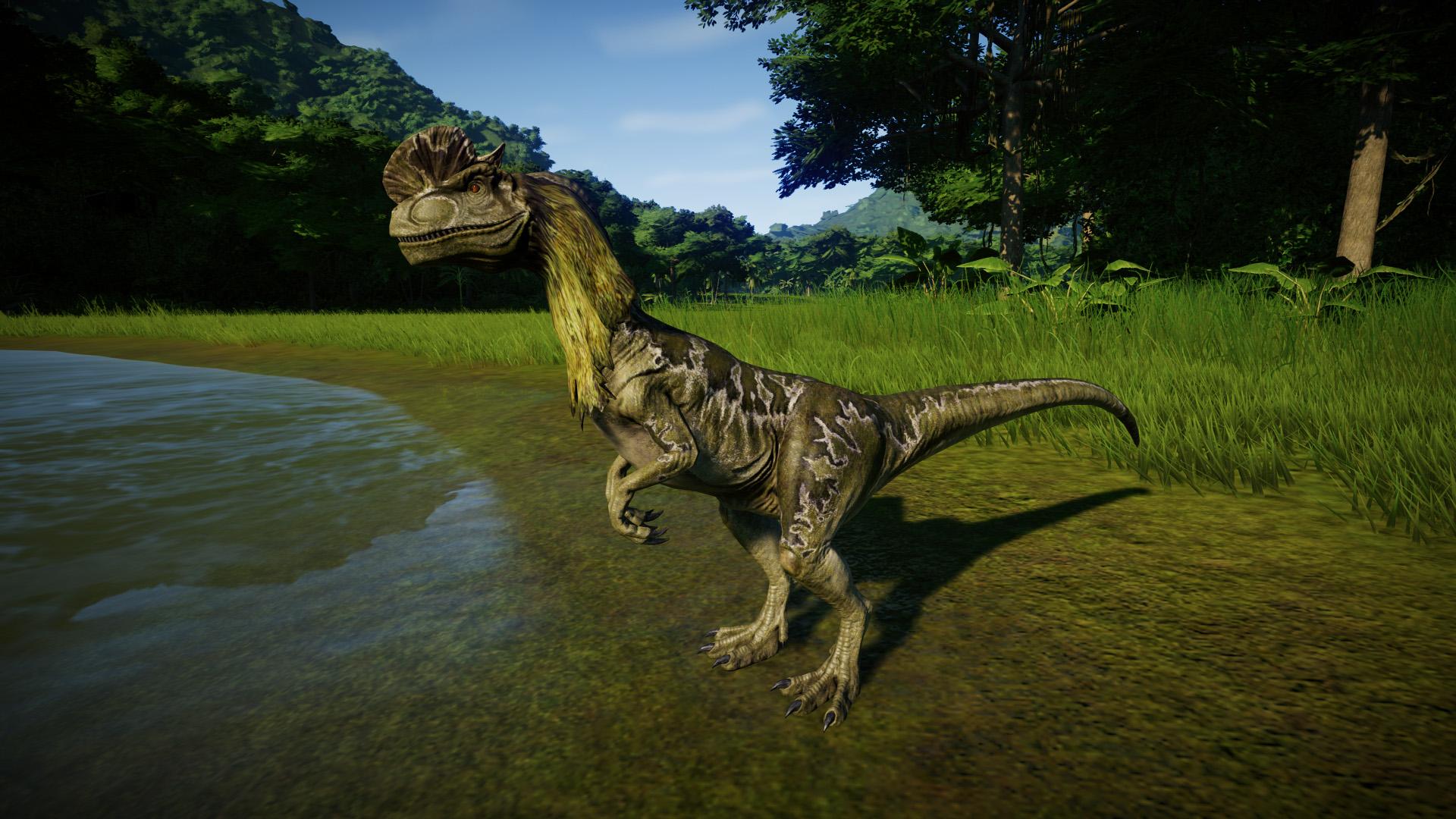 дилофозавр картинки в юрском периоде самых
