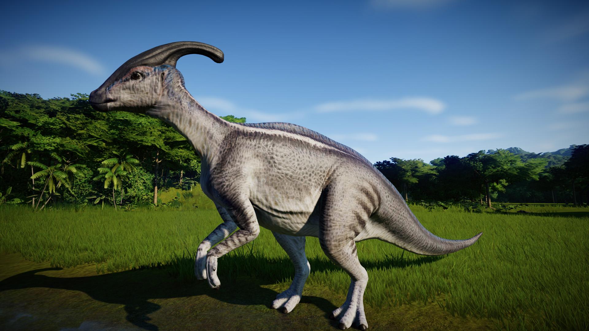 Картинки динозавры паразауролоф