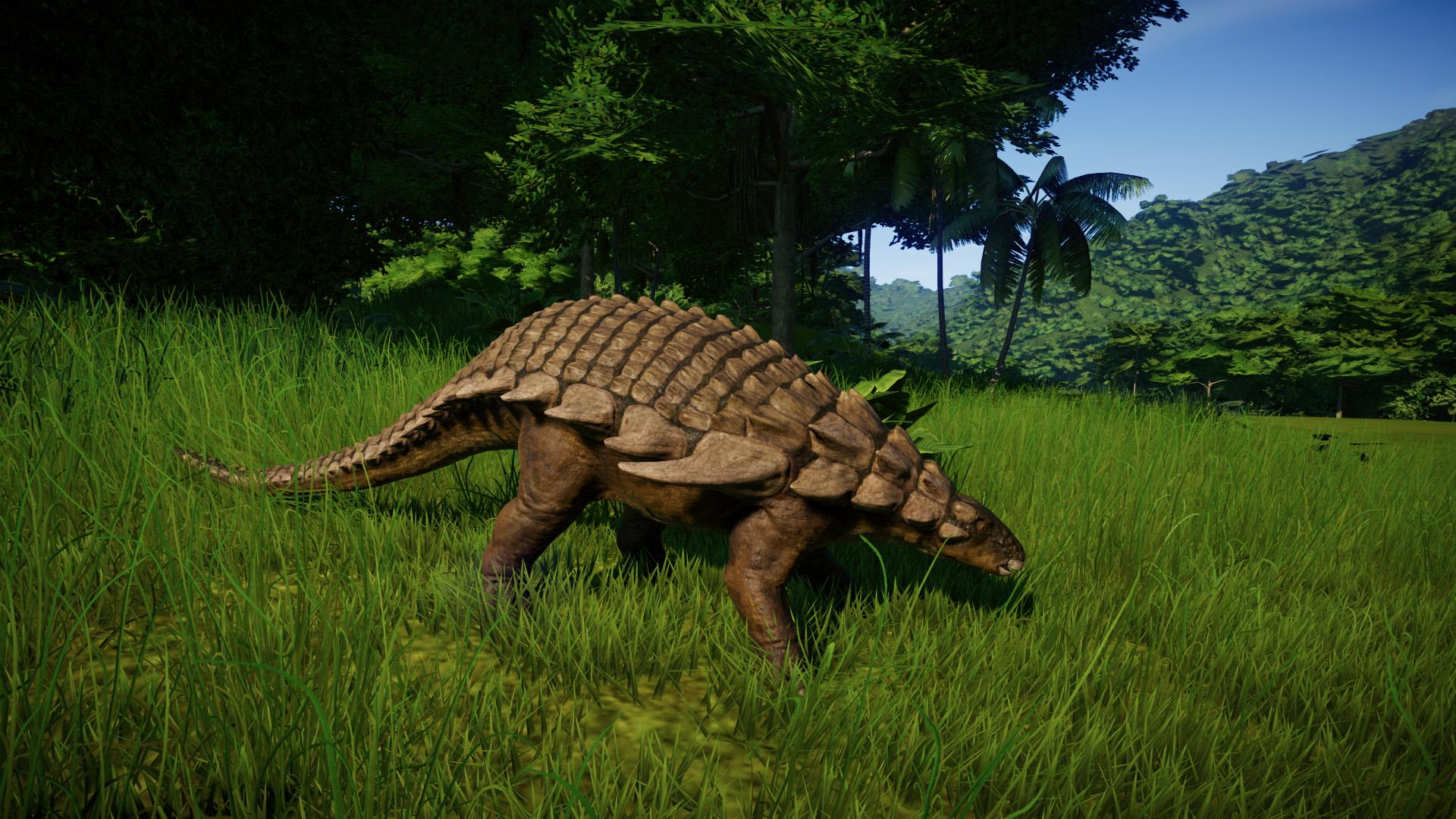 Нодозавр - Jurassic World Evolution