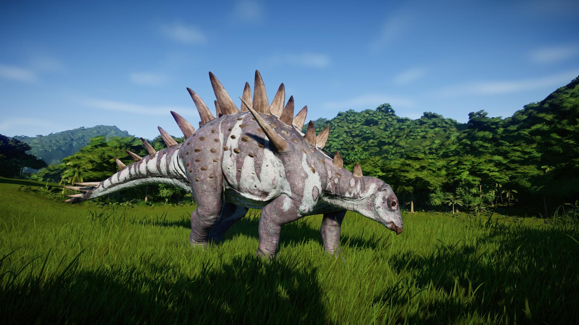 Chungkingosaurus - Jurassic World Evolution