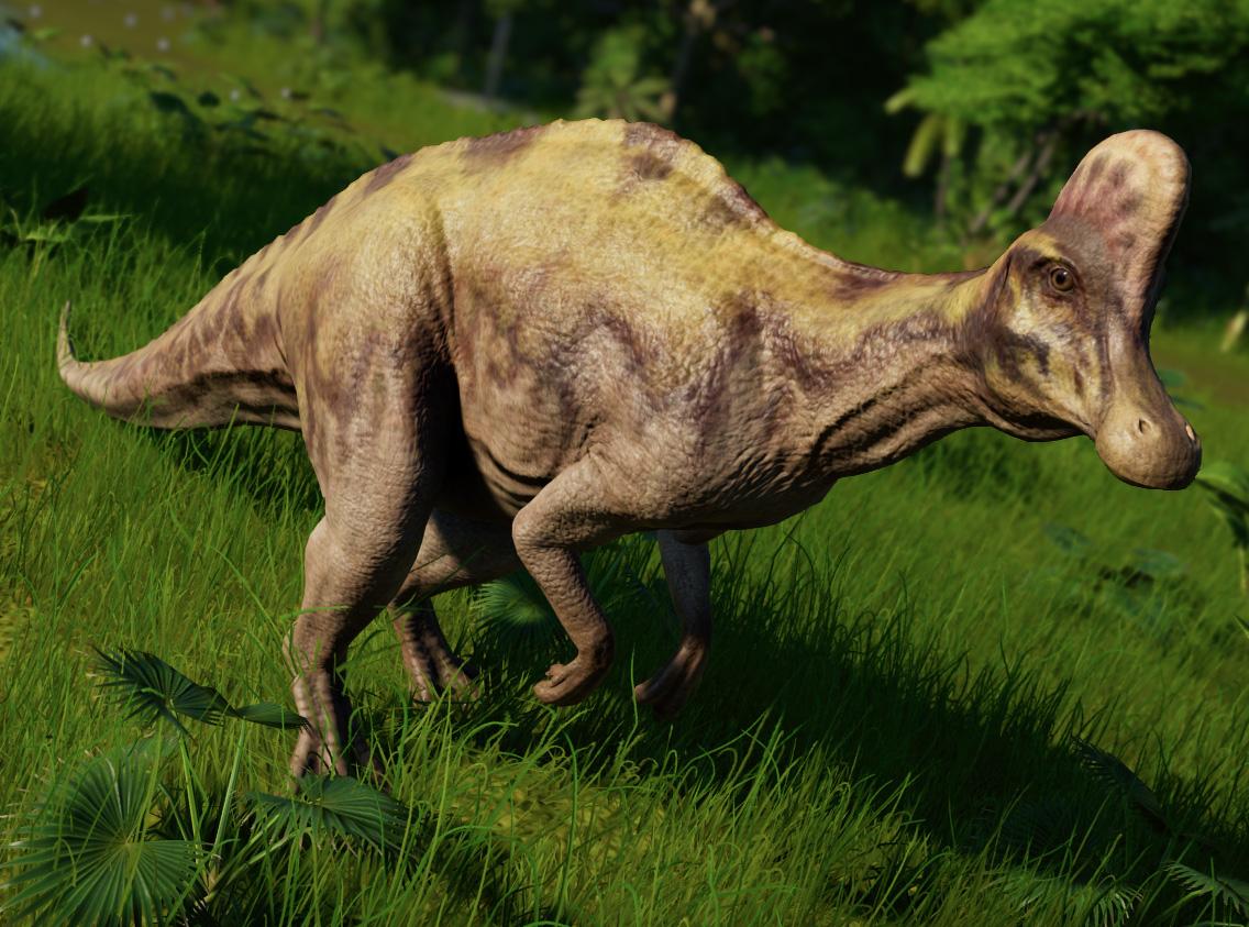 Коритозавр - Jurassic World Evolution