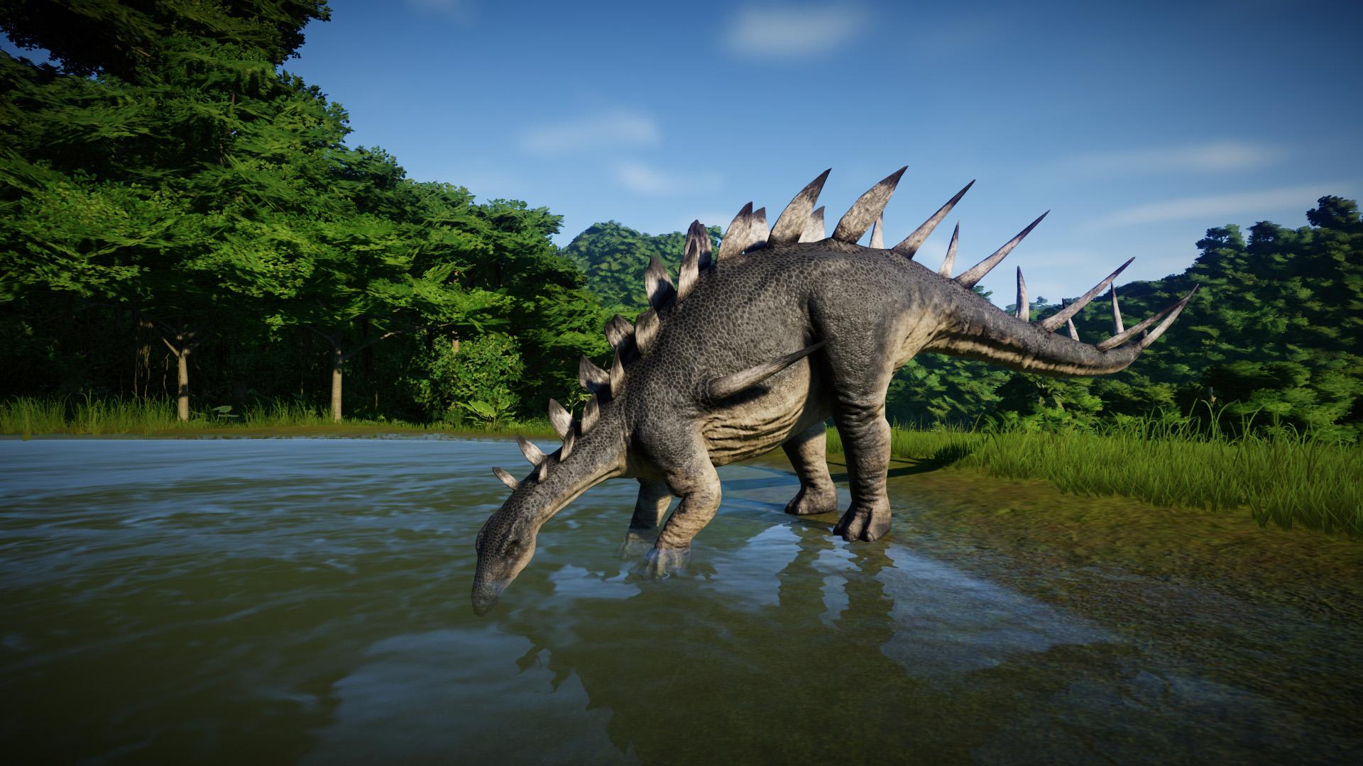 Кентрозавр - Jurassic World Evolution