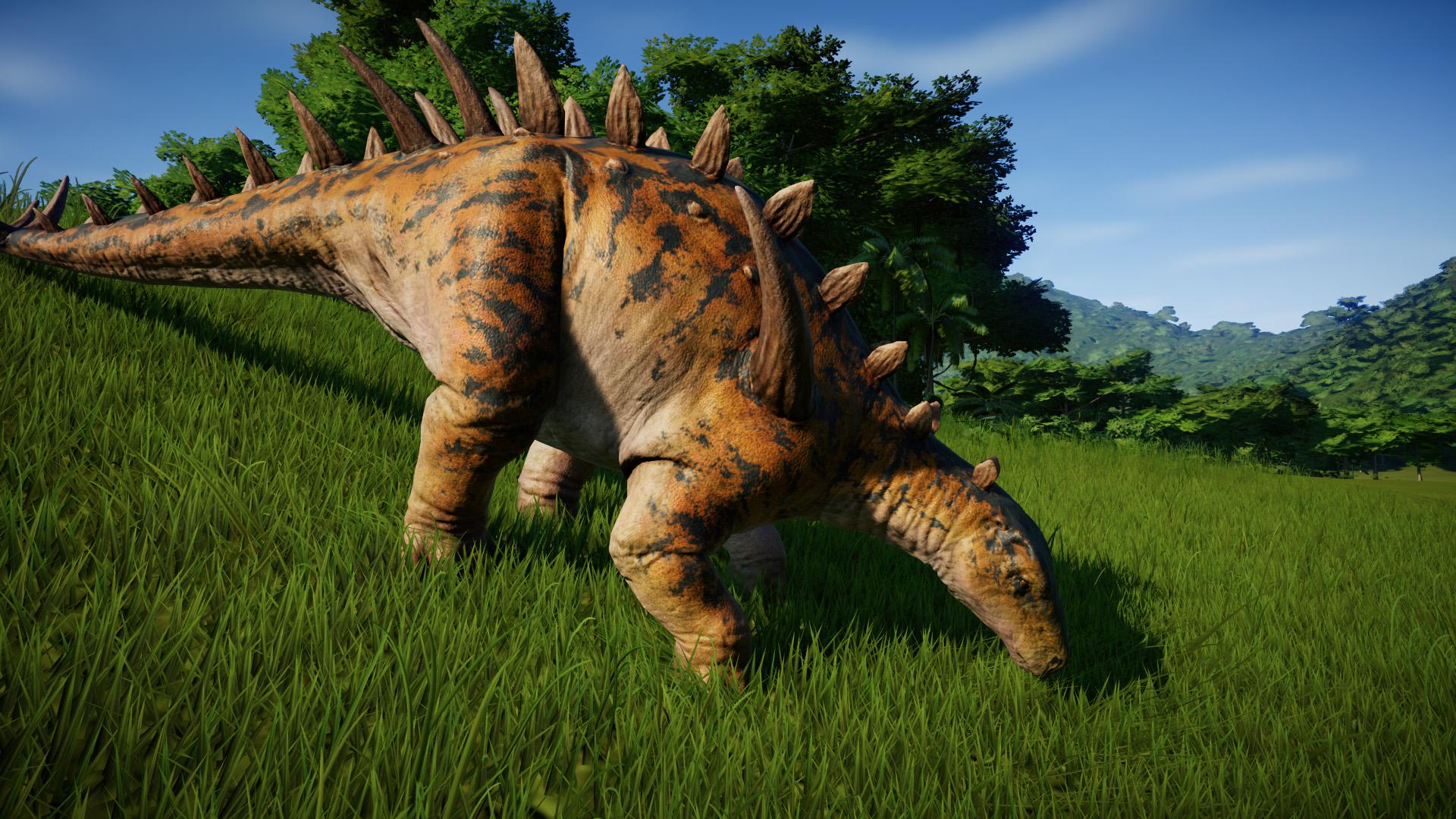 Хуаянозавр - Jurassic World Evolution