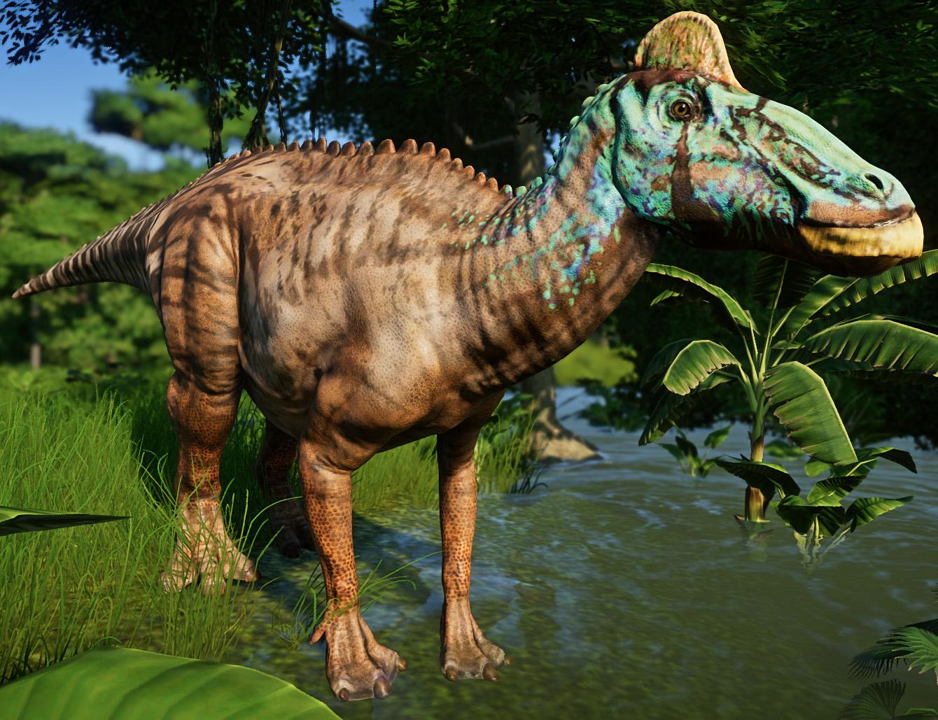 Эдмонтозавр - Jurassic World Evolution