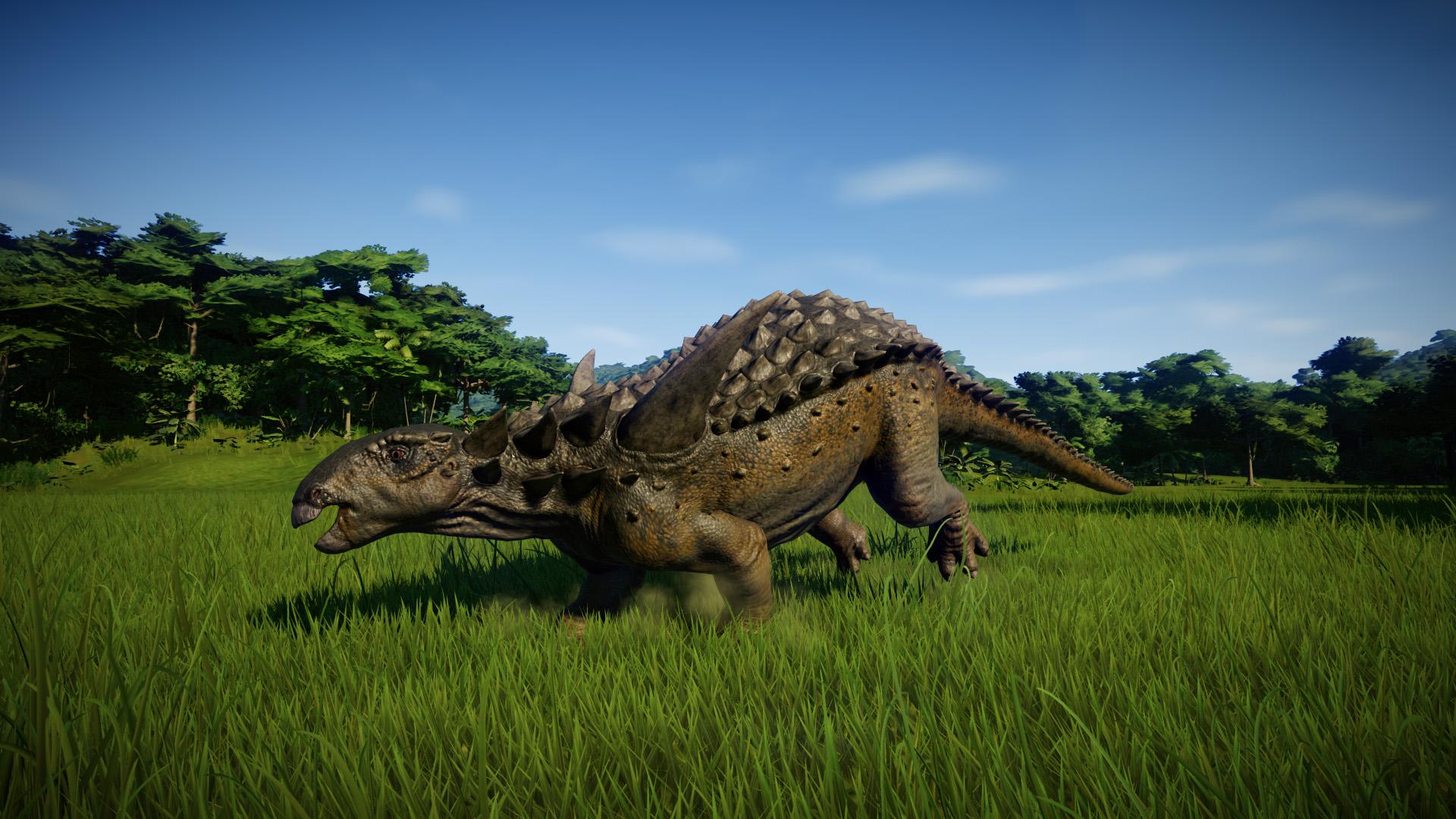 Зауропельта - Jurassic World Evolution