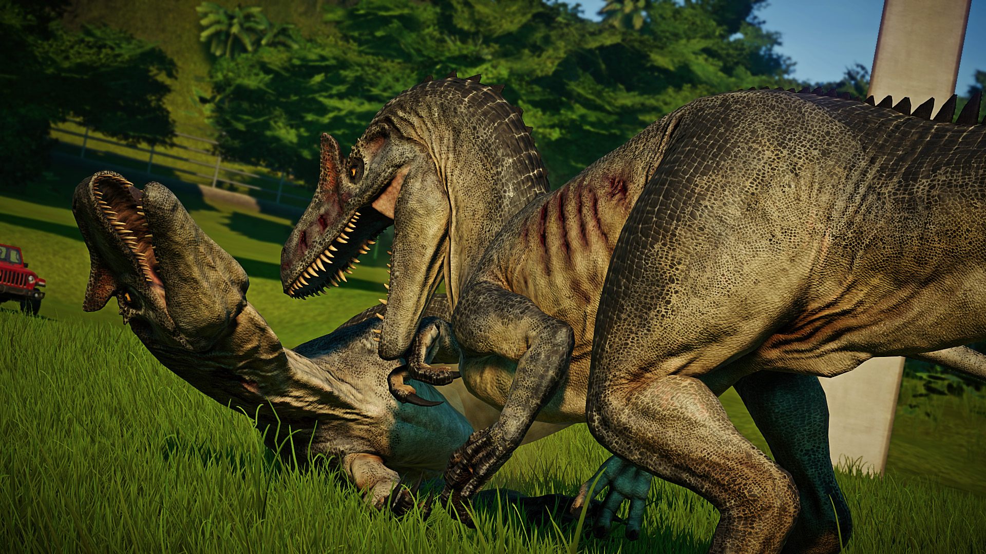 Аллозавр - Jurassic World Evolution