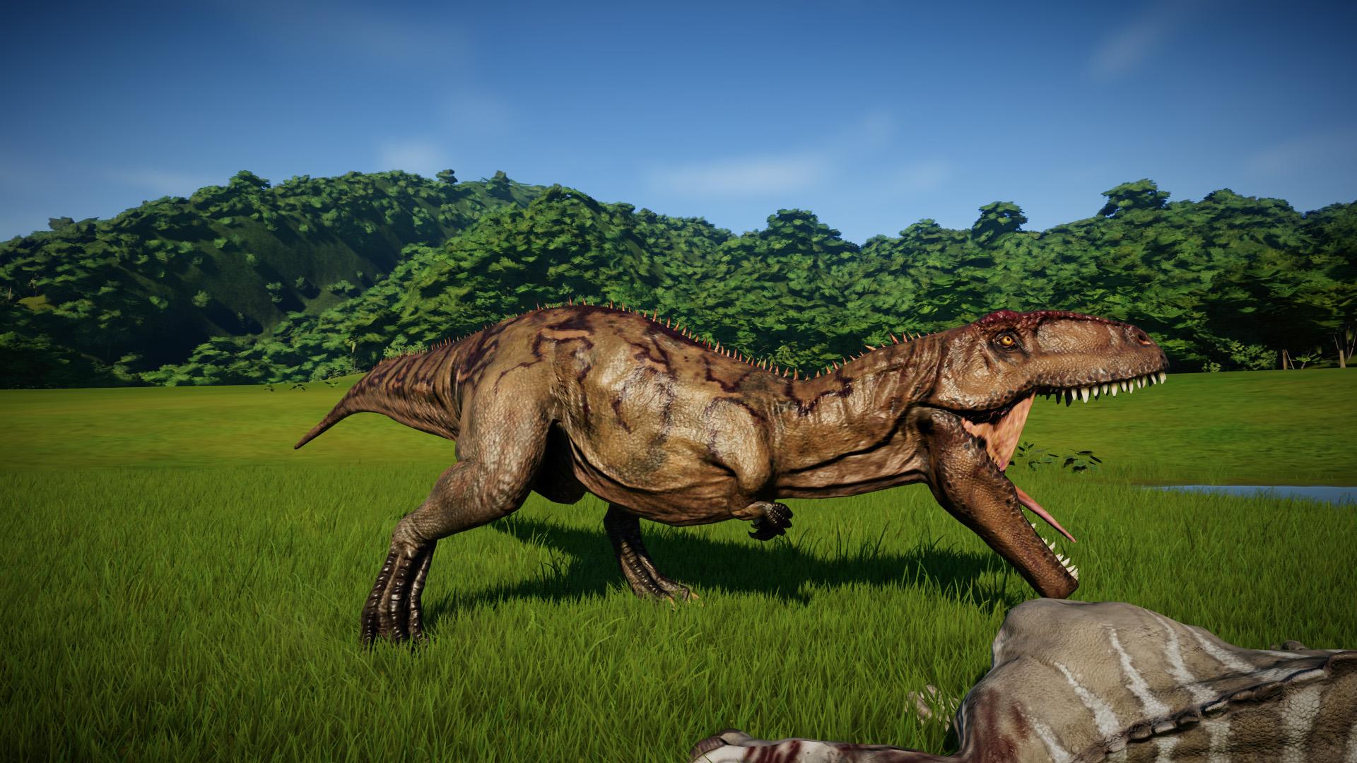 Гигантозавр - Jurassic World Evolution