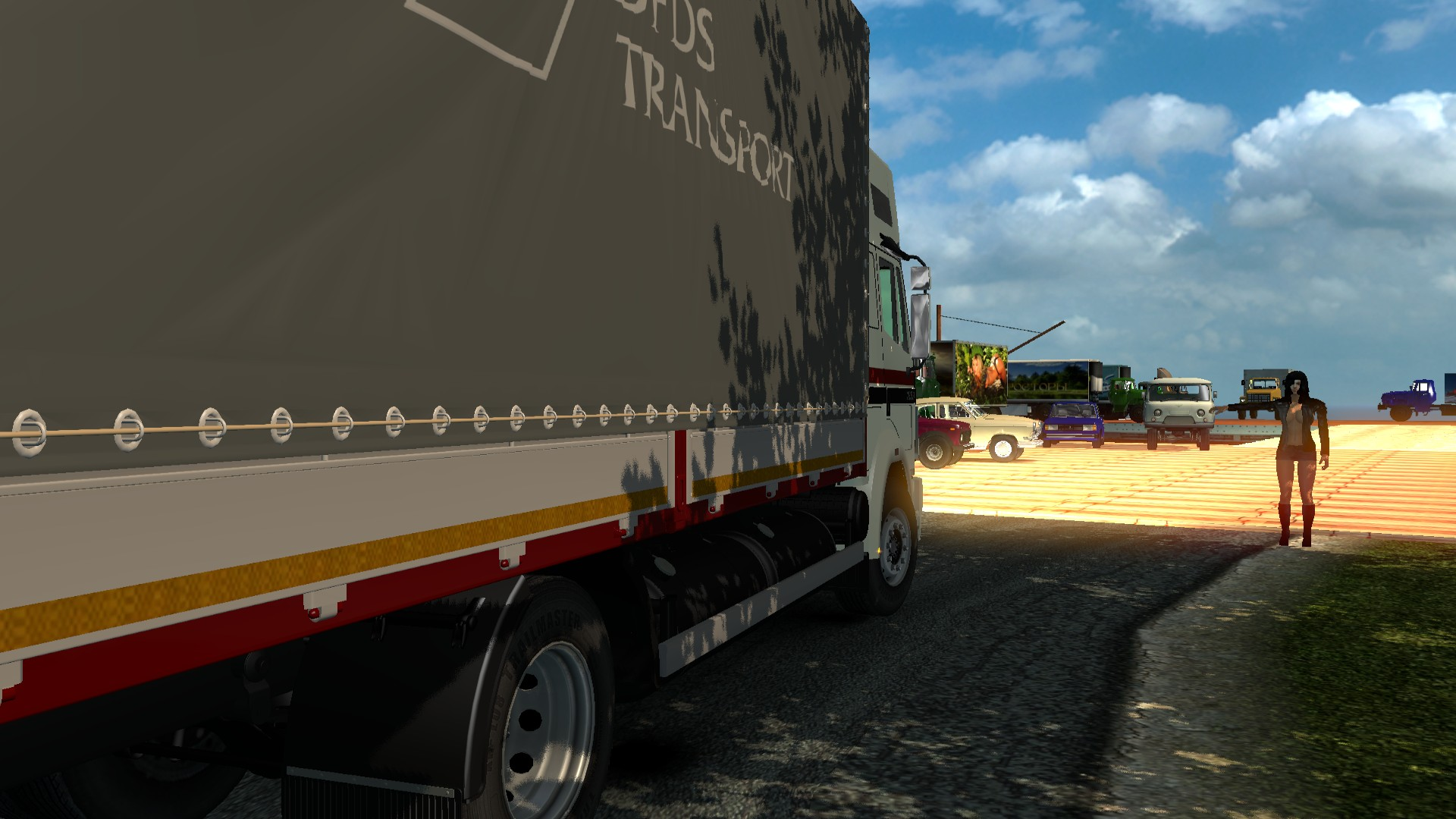 Паромно-сексуальные услуги - Euro Truck Simulator 2