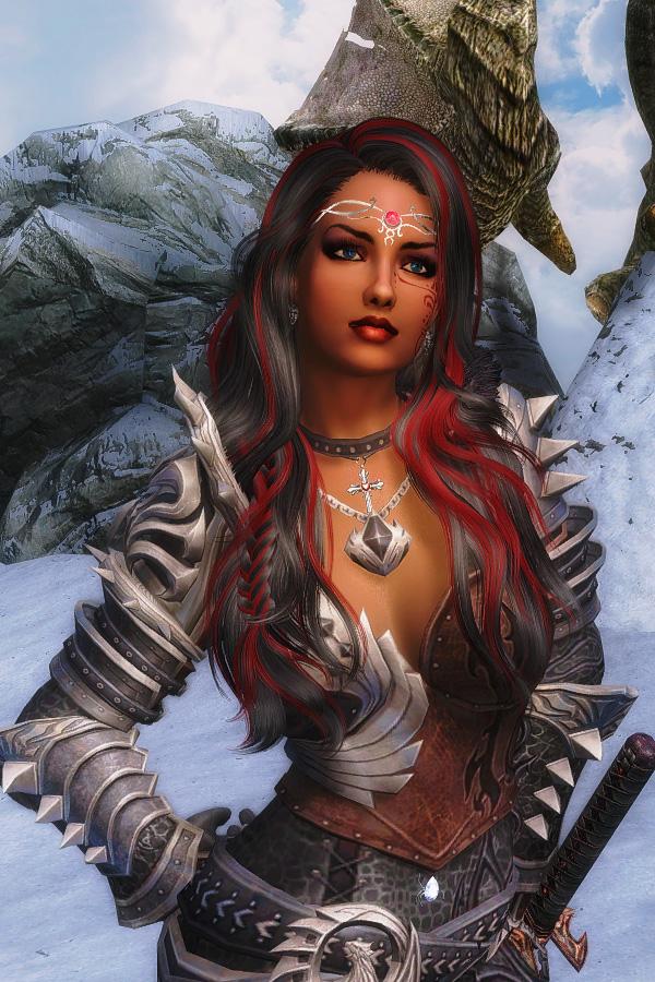 631. Алисса на Глотке Мира.jpg - Elder Scrolls 5: Skyrim, the CBBE, Сборка-21
