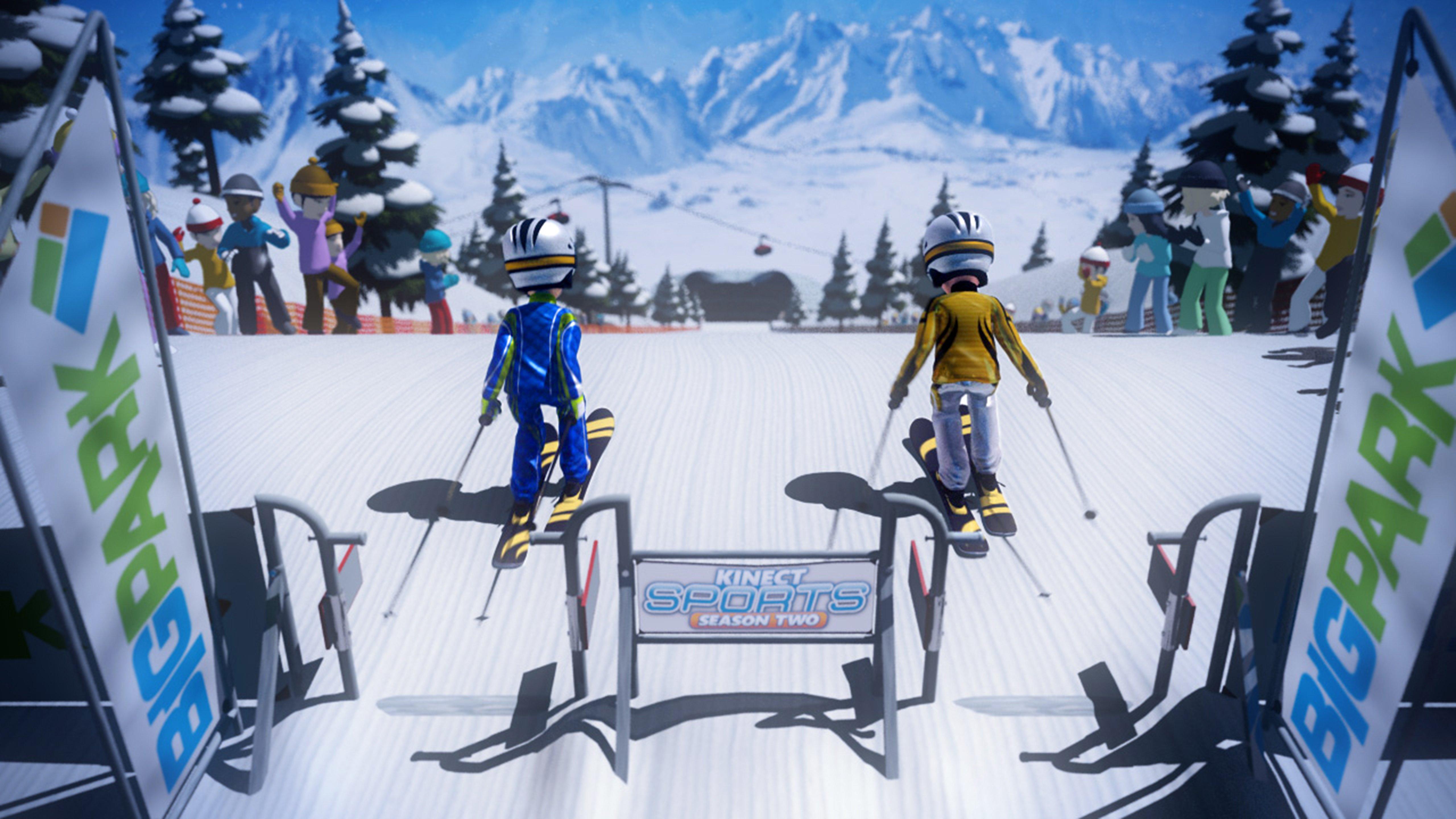 Лыжный спорт - Kinect Sports: Season Two 5K
