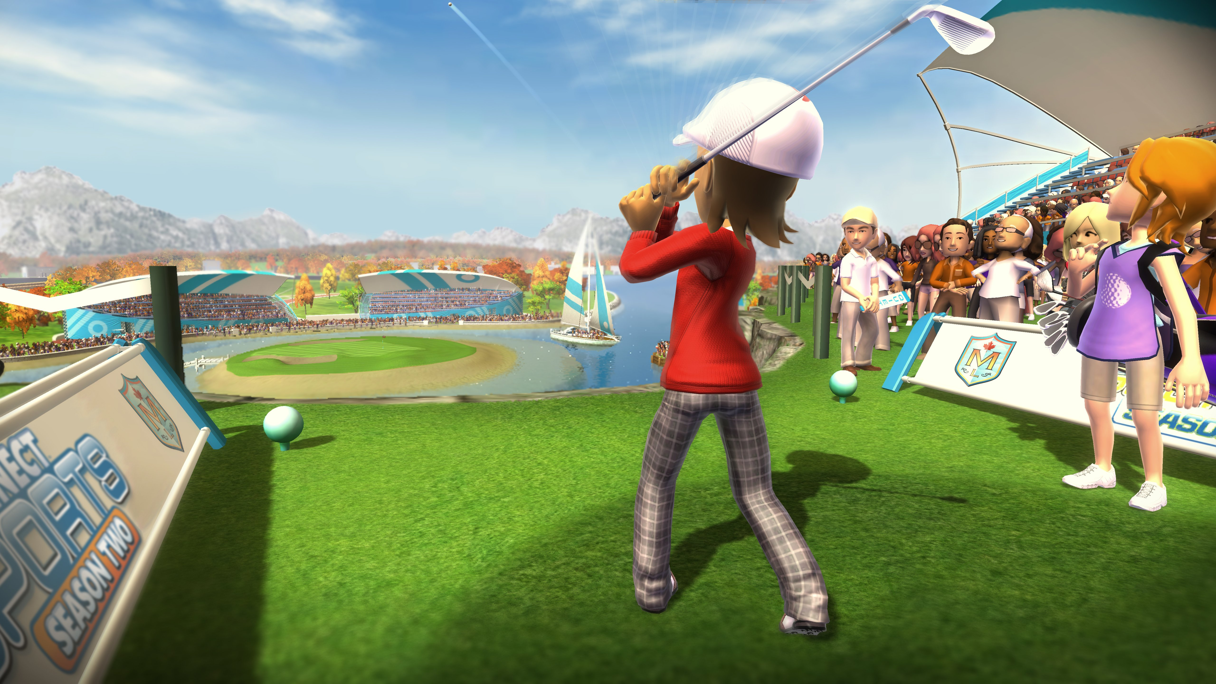 Гольф - Kinect Sports: Season Two 5K