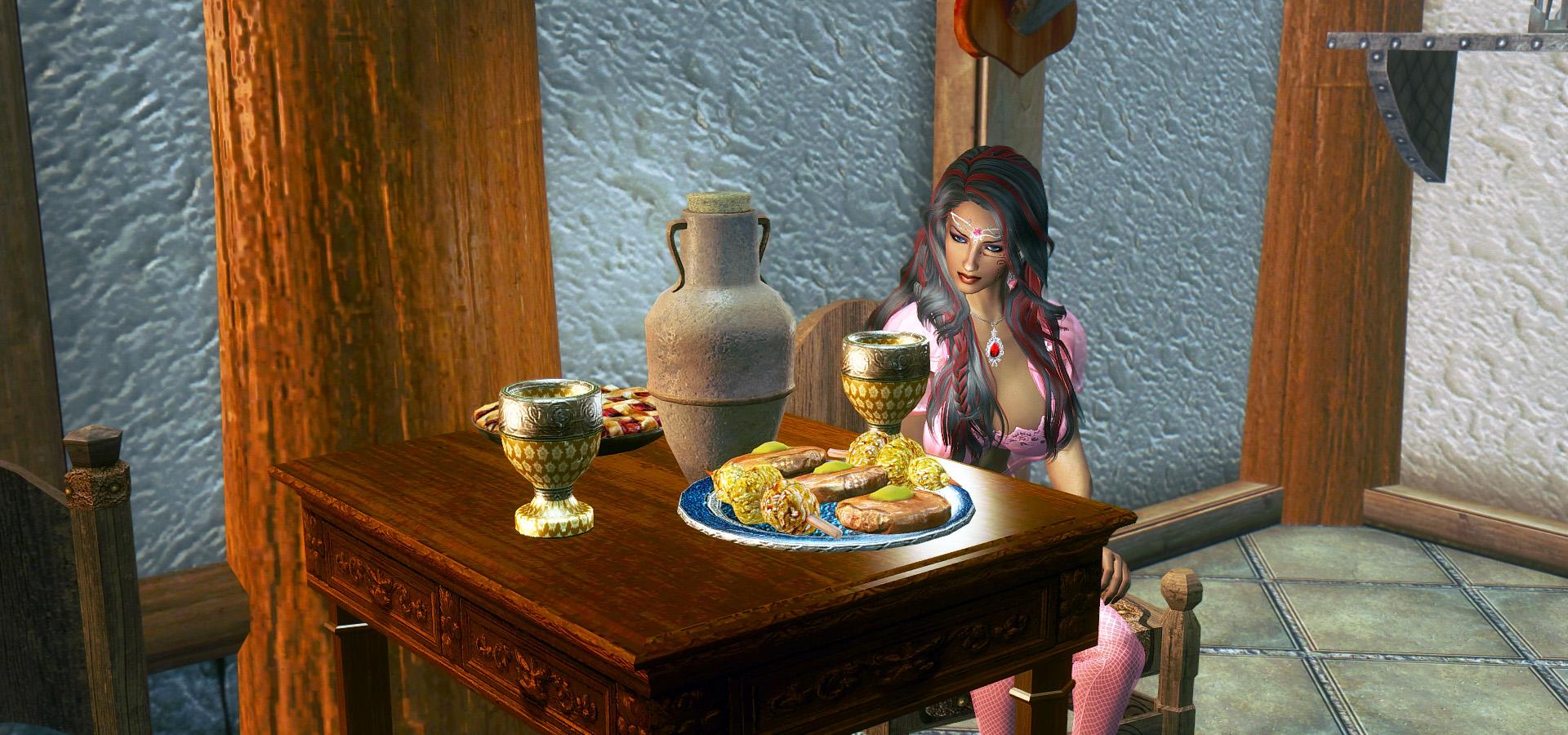 634. Столик для чаепития.jpg - Elder Scrolls 5: Skyrim, the CBBE, Сборка-21