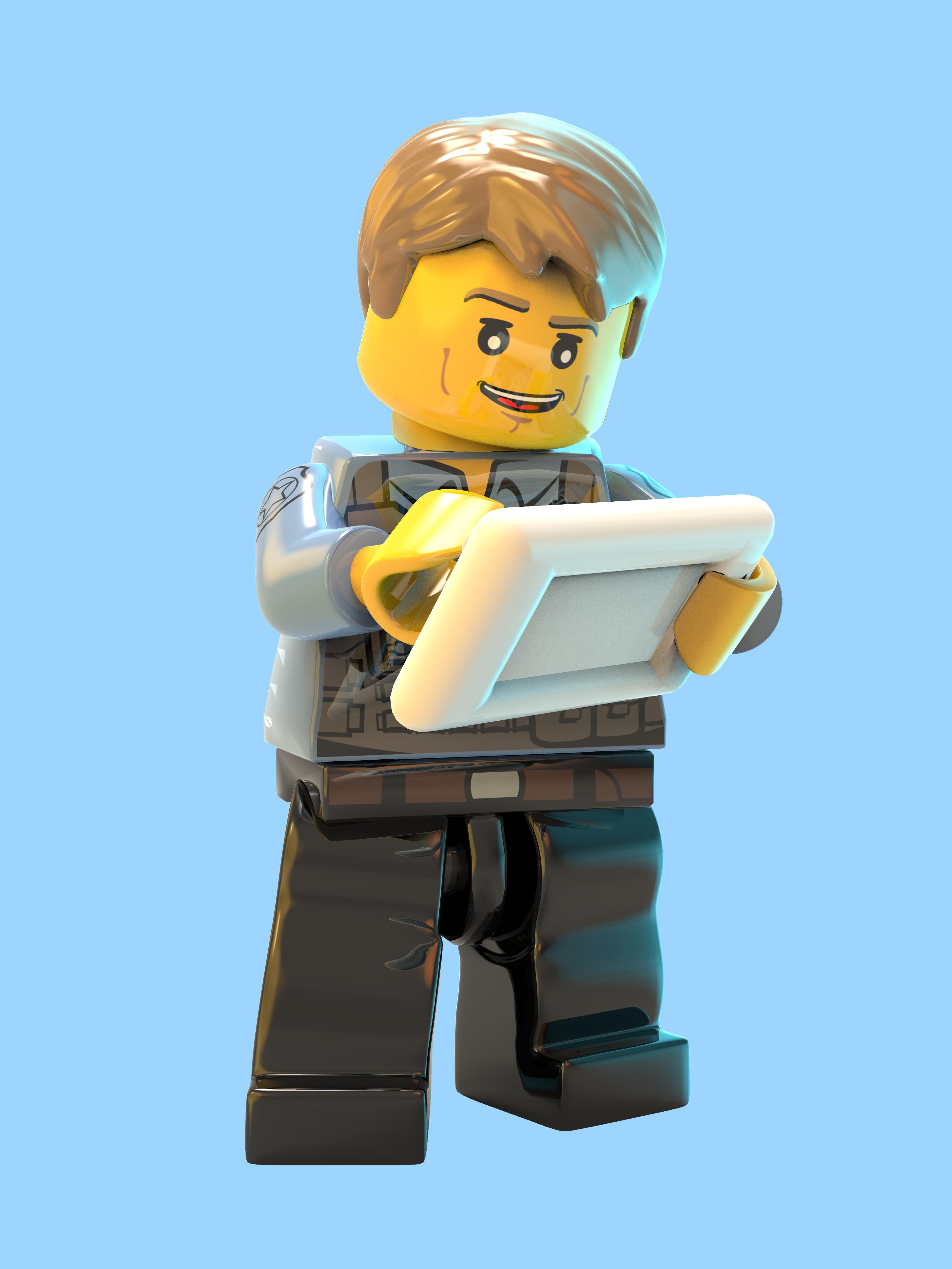 LEGO City Undercover - LEGO City Undercover Арт, Персонаж