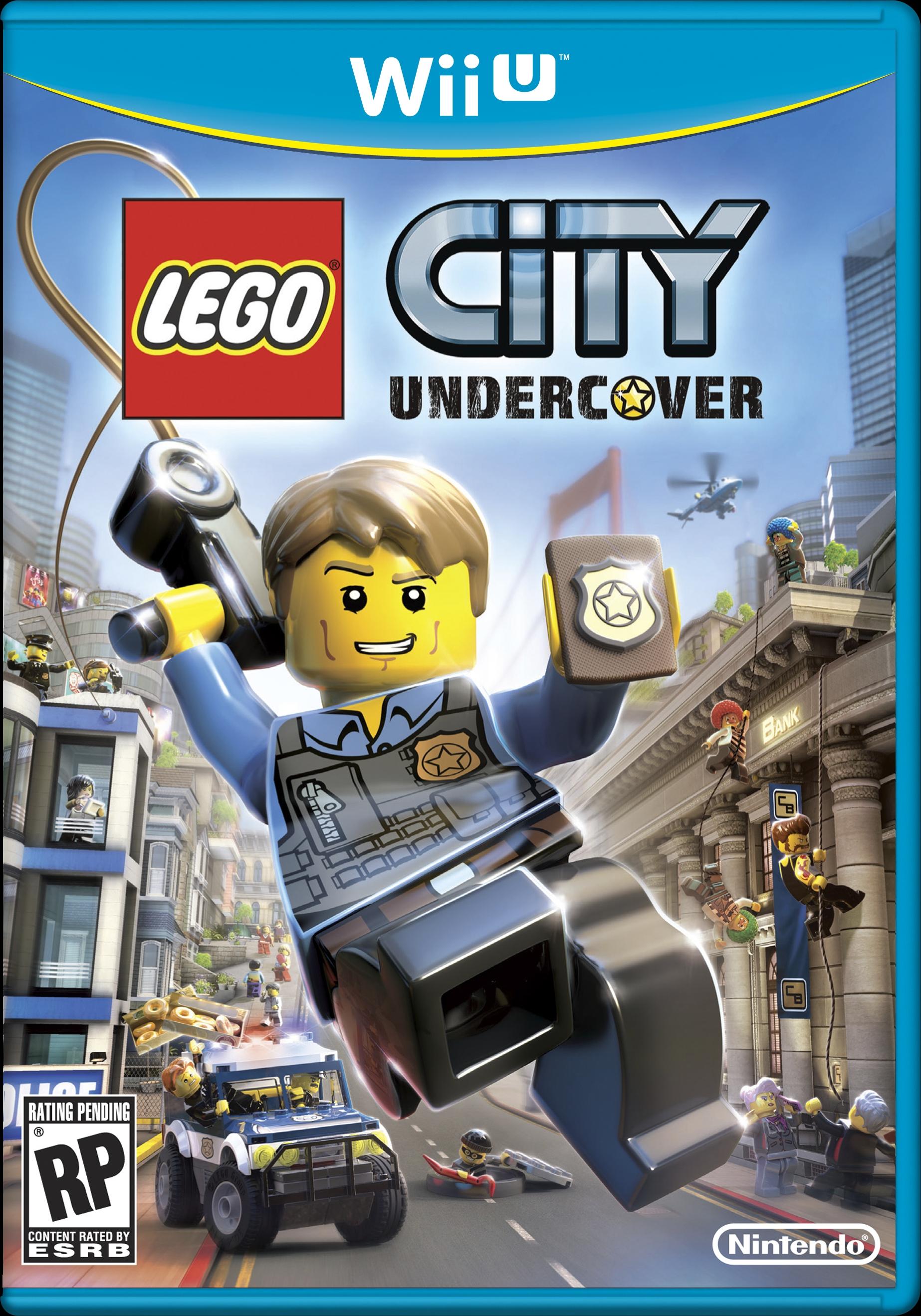 Бокс-арт (Wii) - LEGO City Undercover