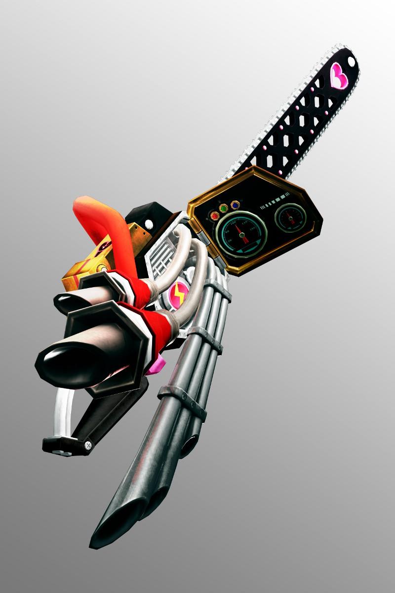 Оружие - Lollipop Chainsaw Арт