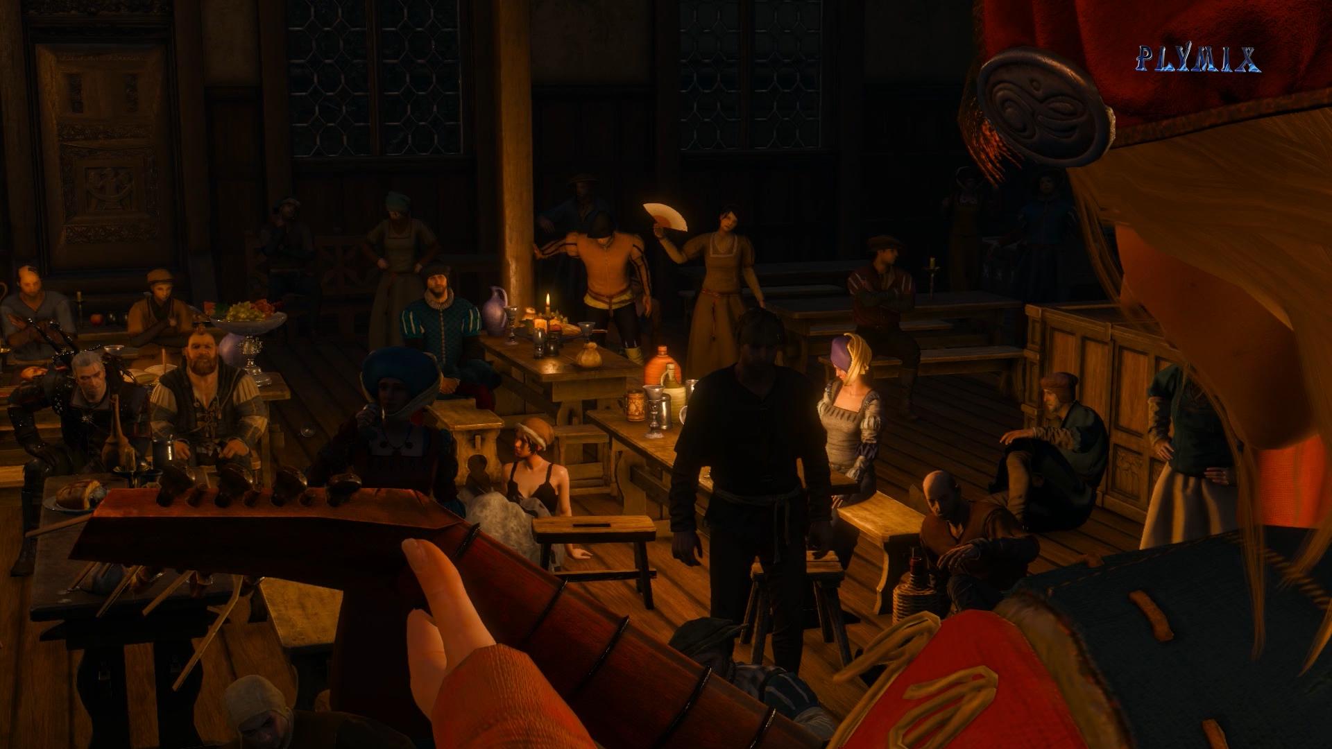 7 Присцилла выступает.png - Witcher 3: Wild Hunt, the