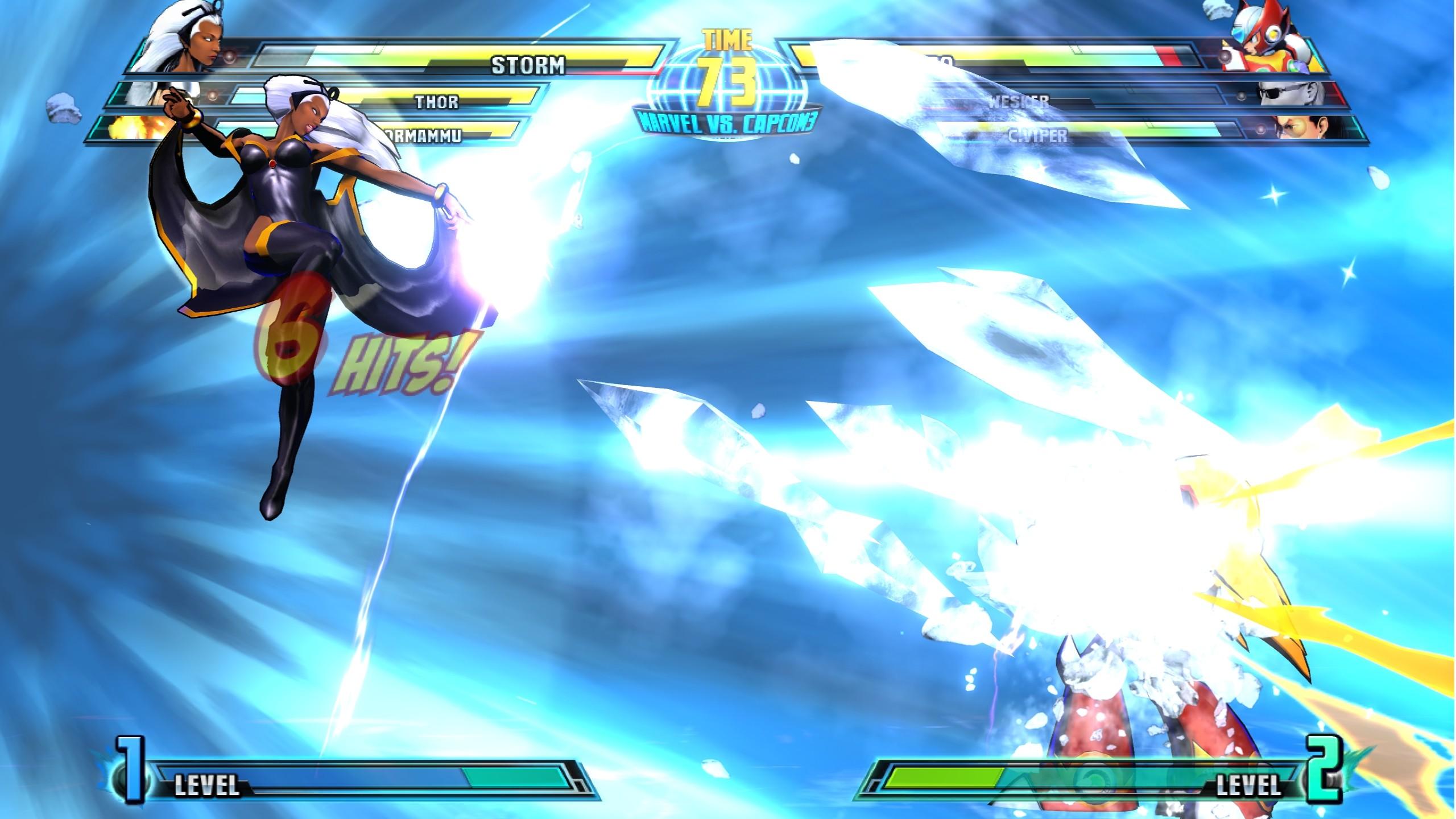 Marvel vs. Capcom 3: Fate of Two Worlds - Marvel vs. Capcom 3: Fate of Two Worlds 2K, Скриншот