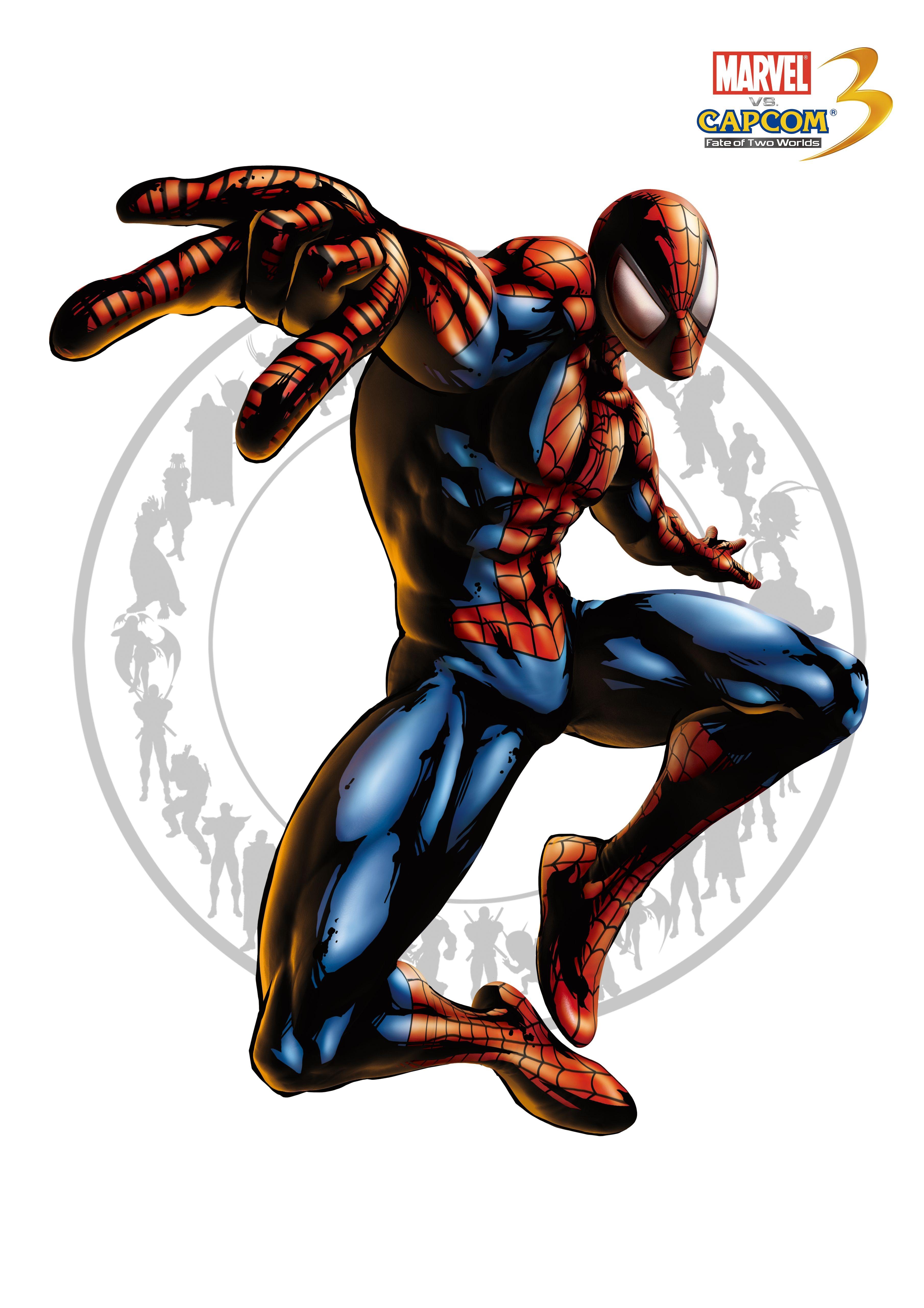 Человек-паук - Marvel vs. Capcom 3: Fate of Two Worlds Арт, Персонаж