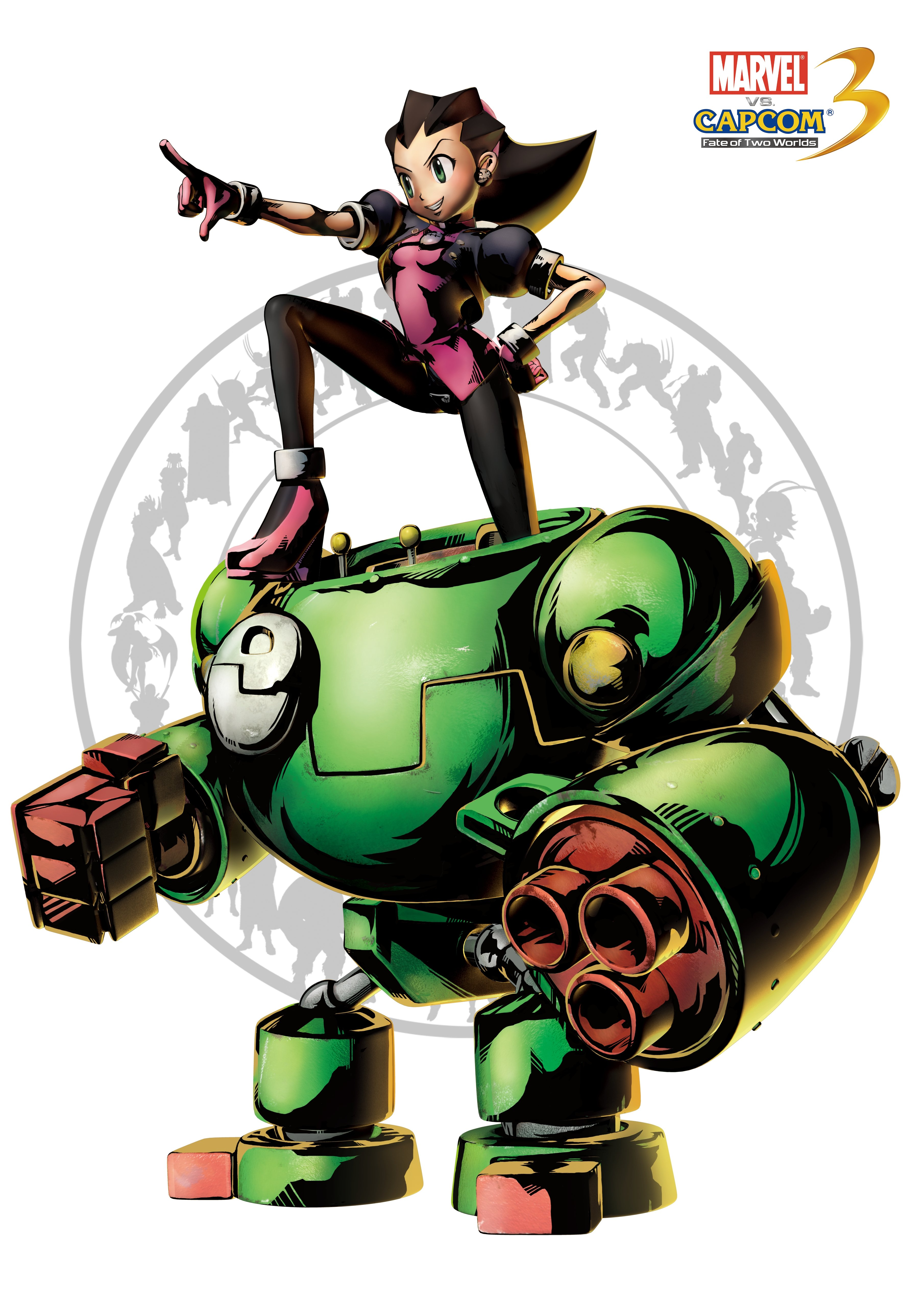 Трон Бонн - Marvel vs. Capcom 3: Fate of Two Worlds Арт, Персонаж