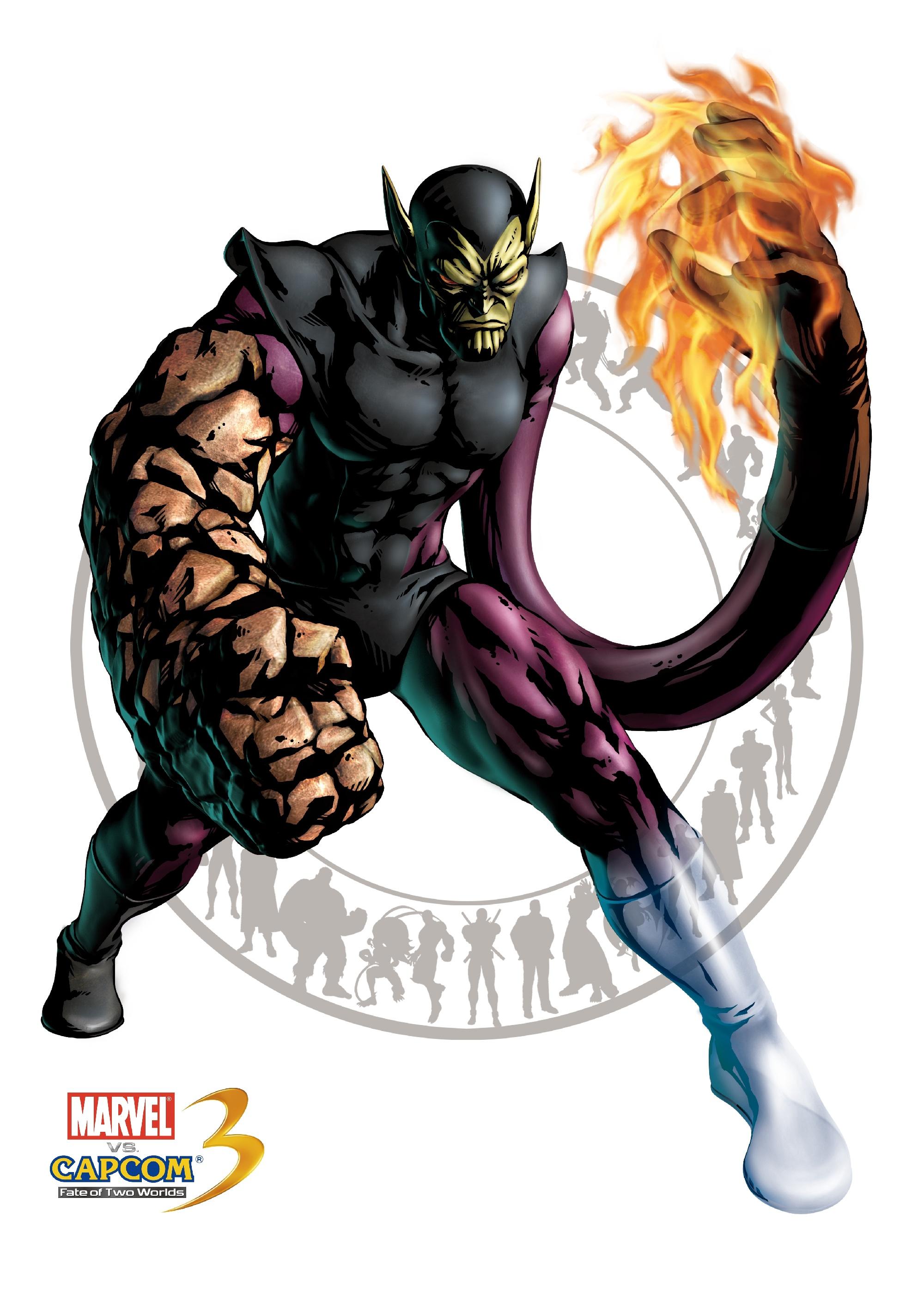 Супер-Скрулл - Marvel vs. Capcom 3: Fate of Two Worlds Арт, Персонаж