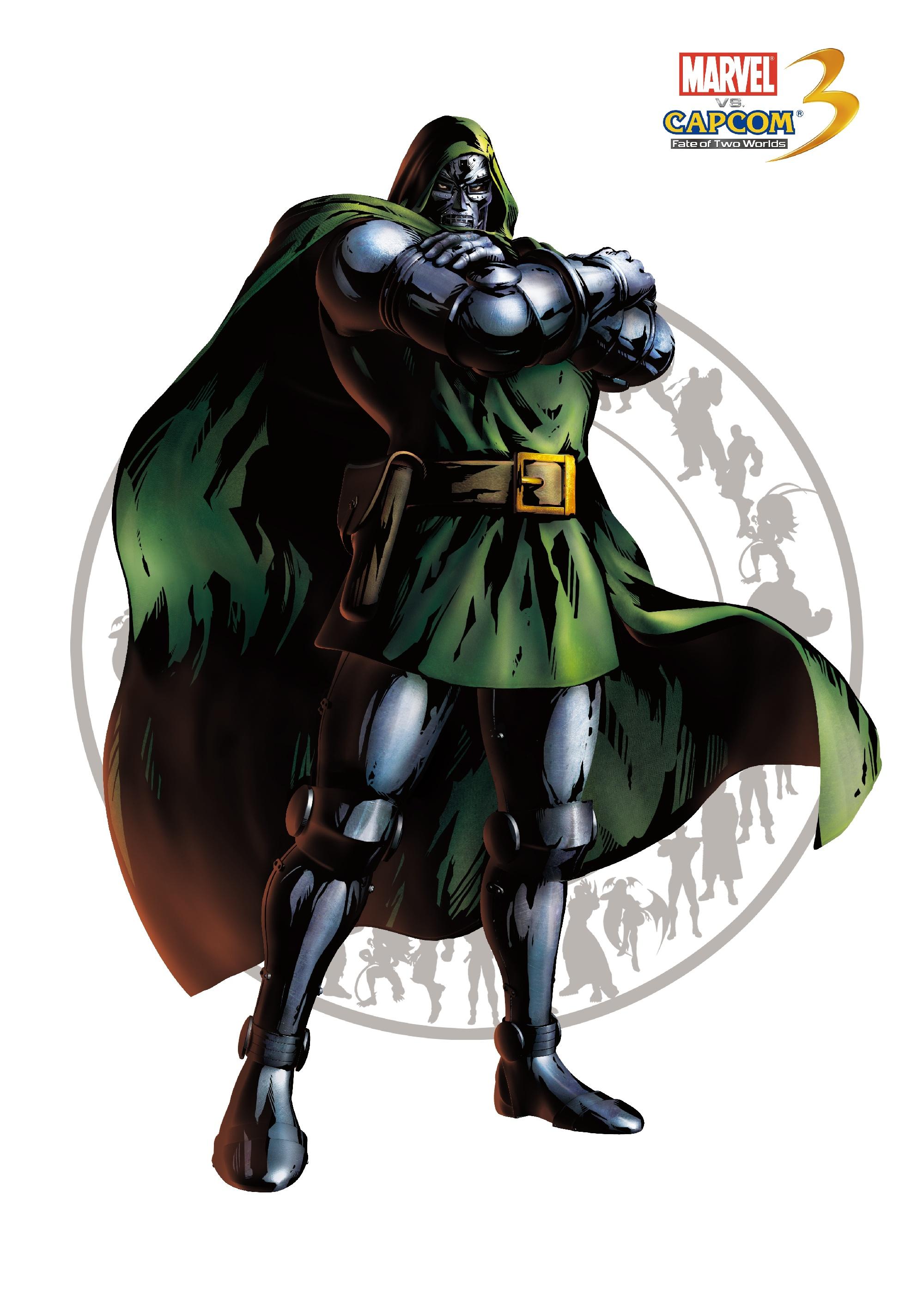 Доктор Дум - Marvel vs. Capcom 3: Fate of Two Worlds Арт, Персонаж