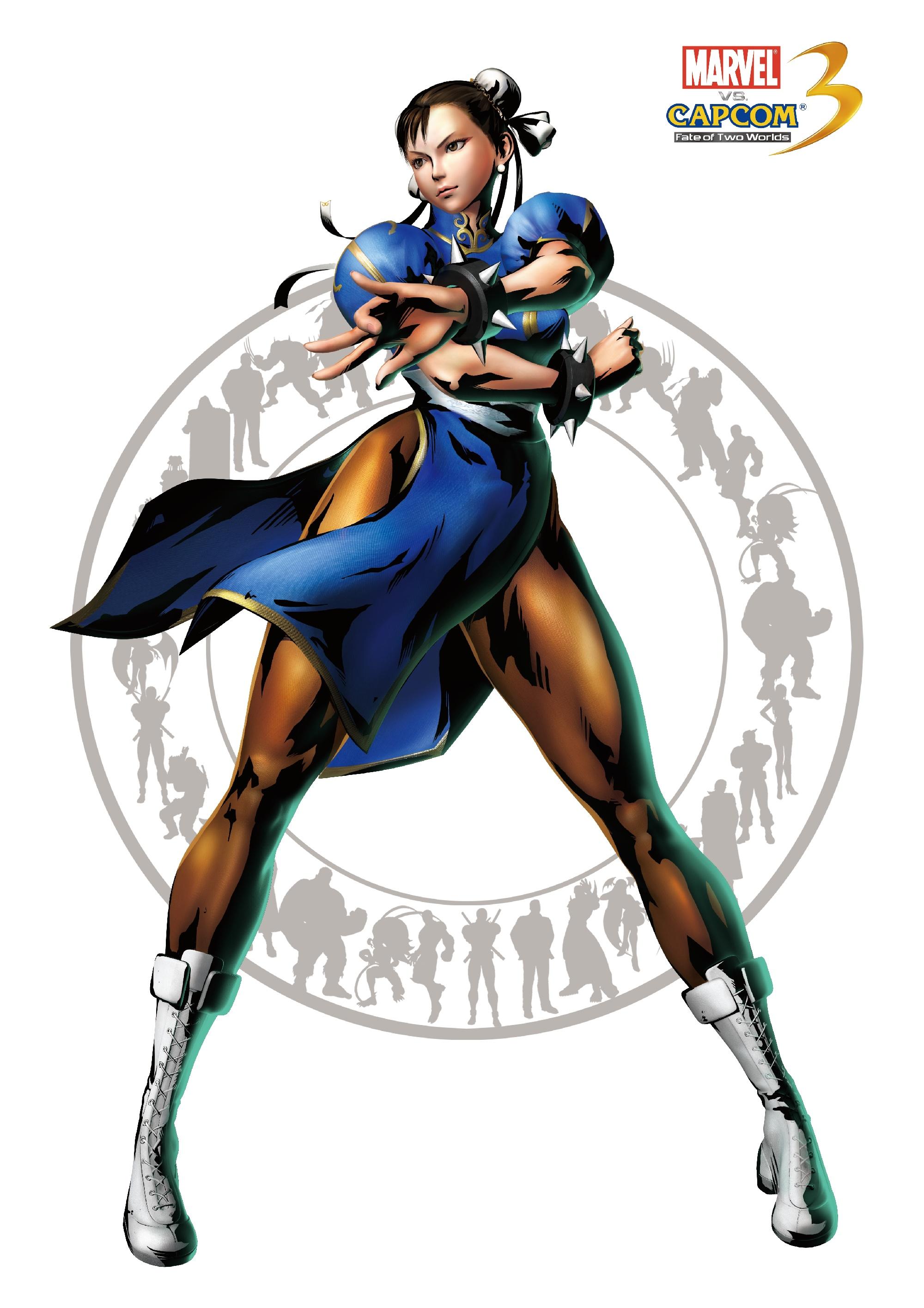 Чунь Ли - Marvel vs. Capcom 3: Fate of Two Worlds Арт, Персонаж