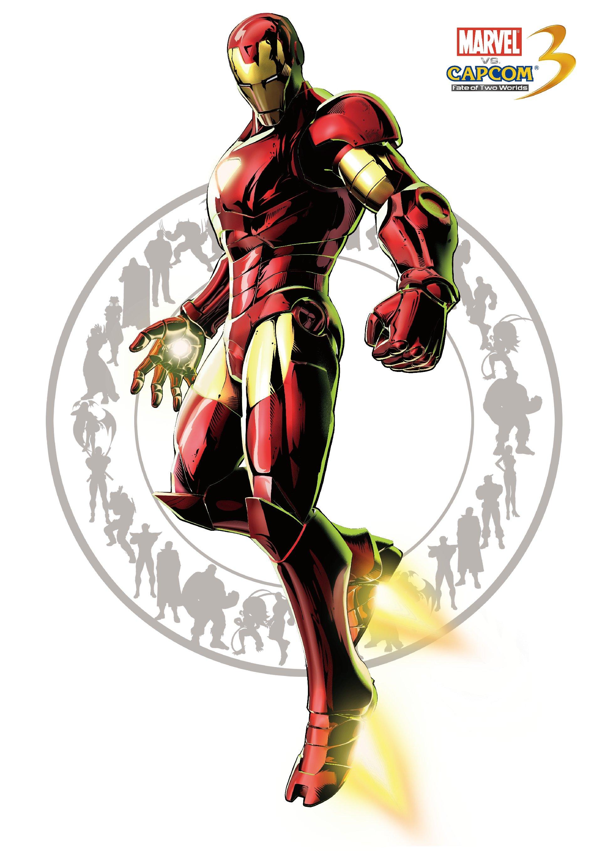 Железный человек - Marvel vs. Capcom 3: Fate of Two Worlds Арт, Персонаж