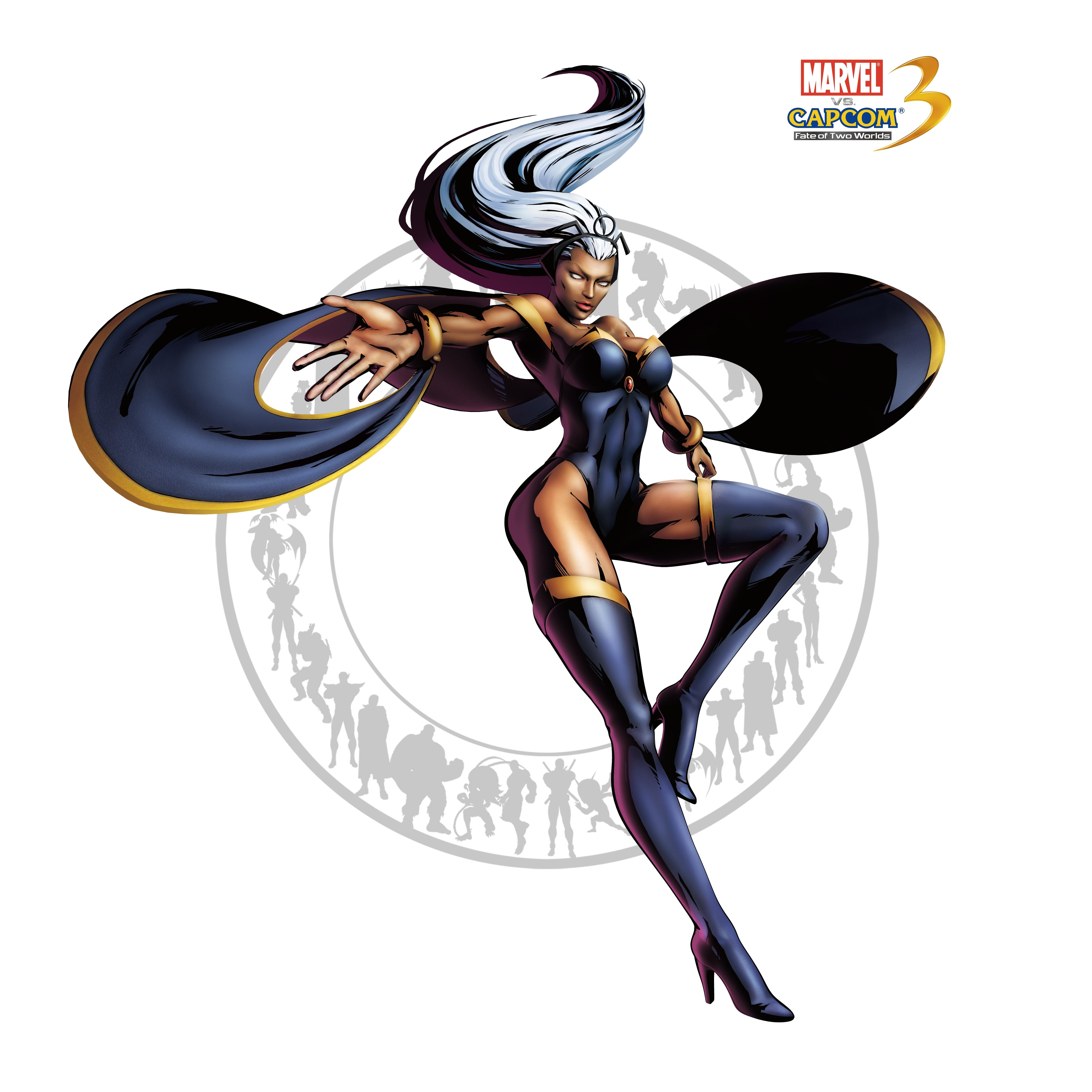 Шторм - Marvel vs. Capcom 3: Fate of Two Worlds Арт, Персонаж