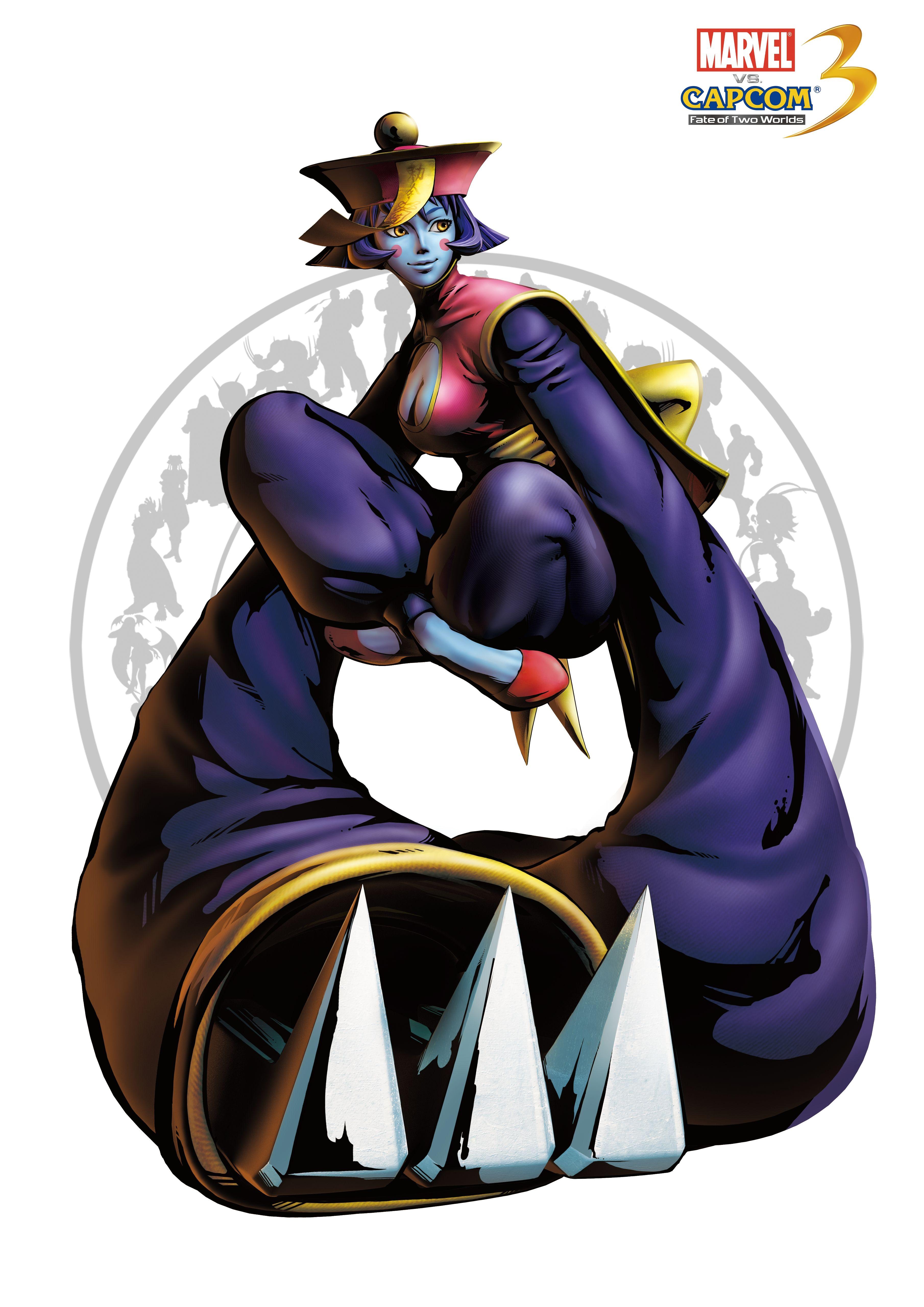 Хсиень-ко - Marvel vs. Capcom 3: Fate of Two Worlds Арт, Персонаж