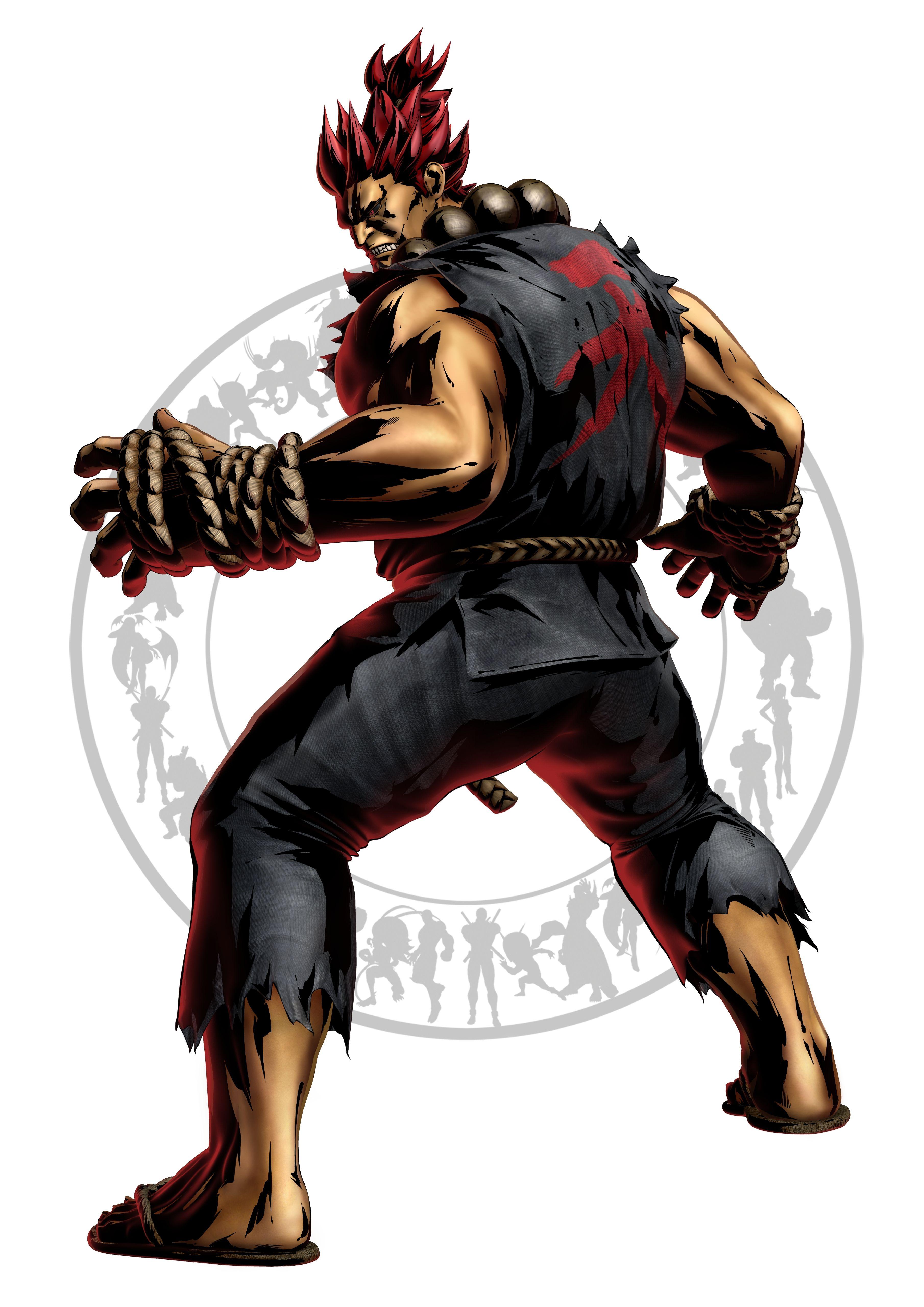 Акума - Marvel vs. Capcom 3: Fate of Two Worlds Арт, Персонаж