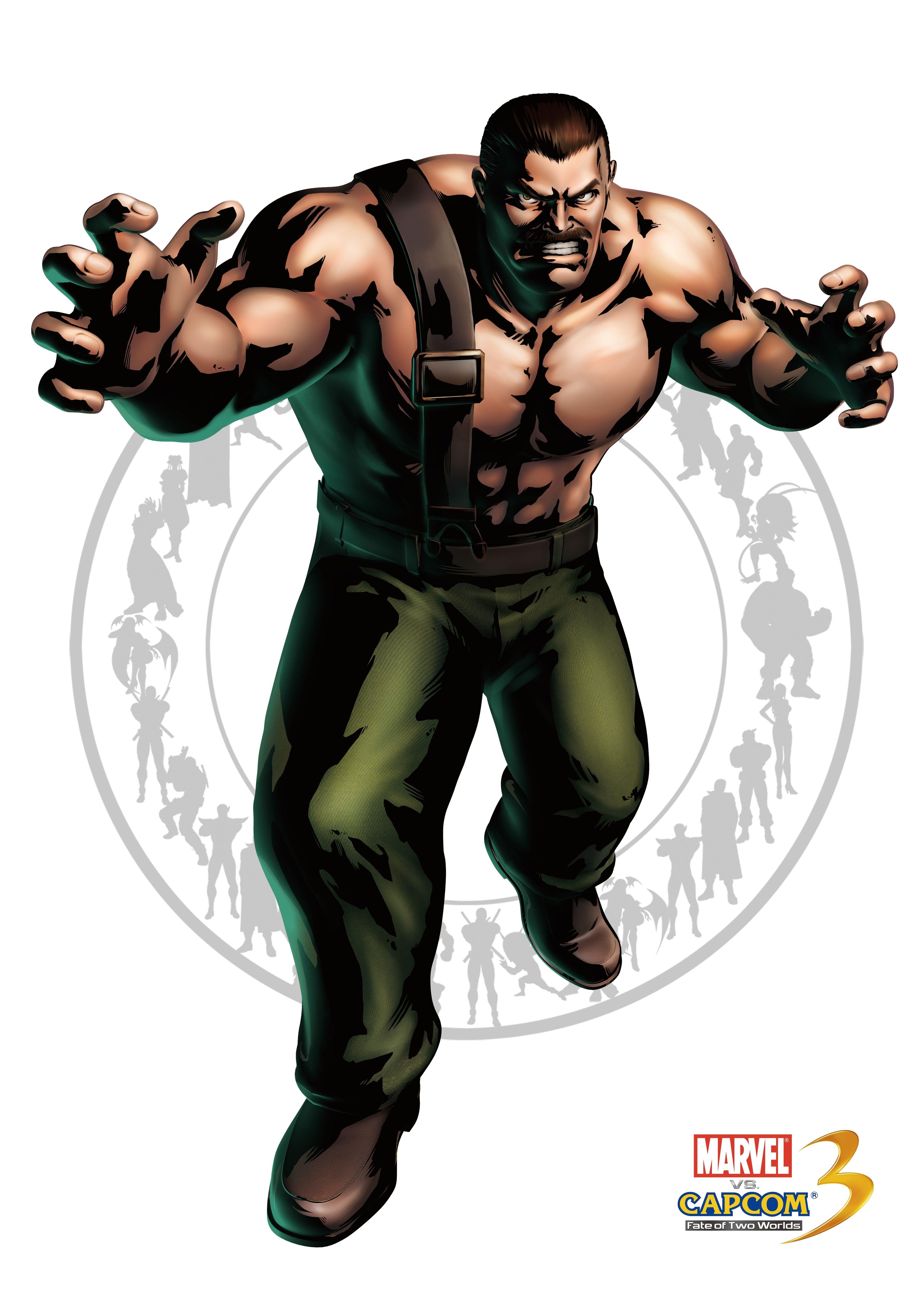 Майк Хаггар - Marvel vs. Capcom 3: Fate of Two Worlds Арт, Персонаж