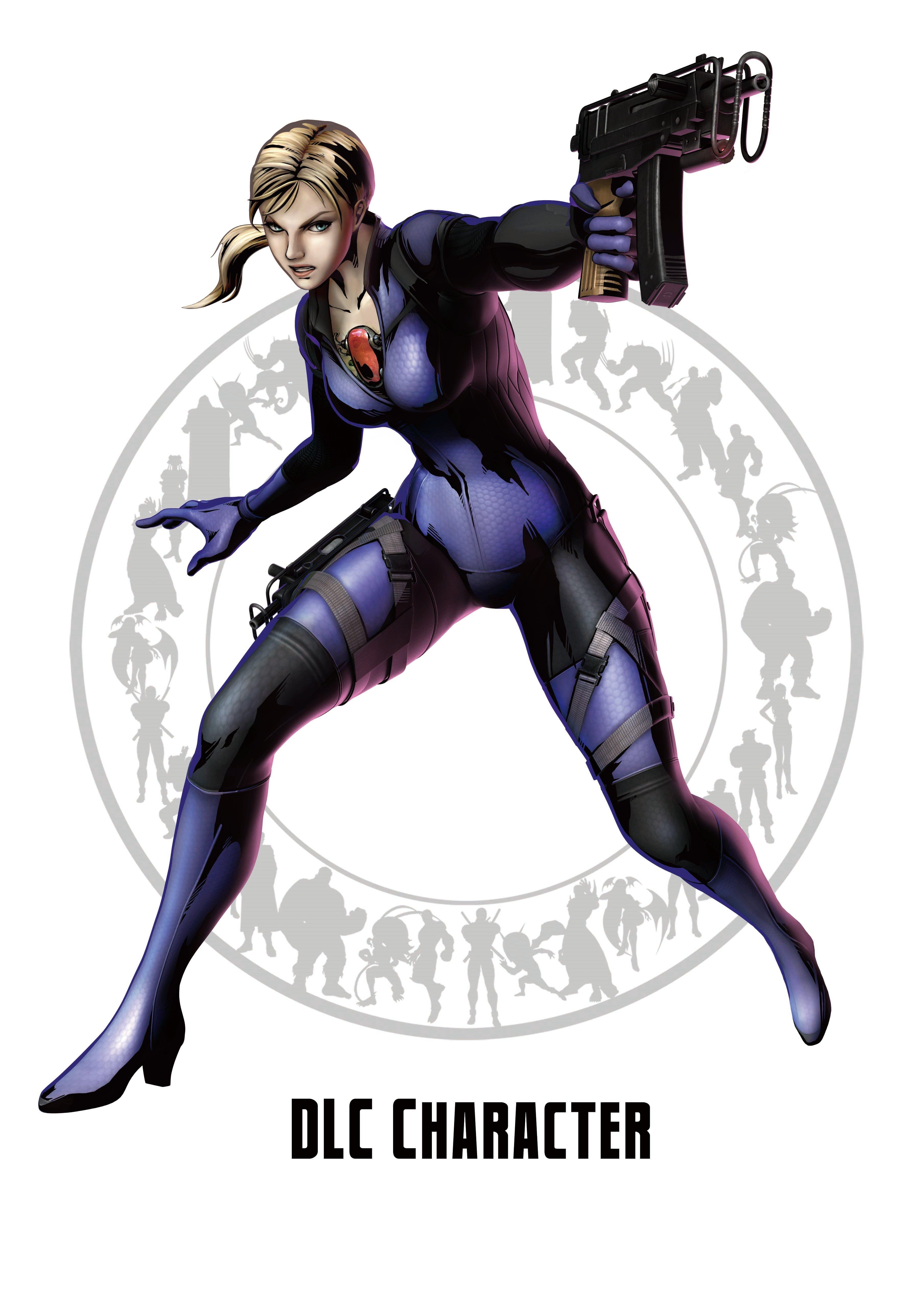 Джилл Валентайн - Marvel vs. Capcom 3: Fate of Two Worlds Арт, Персонаж