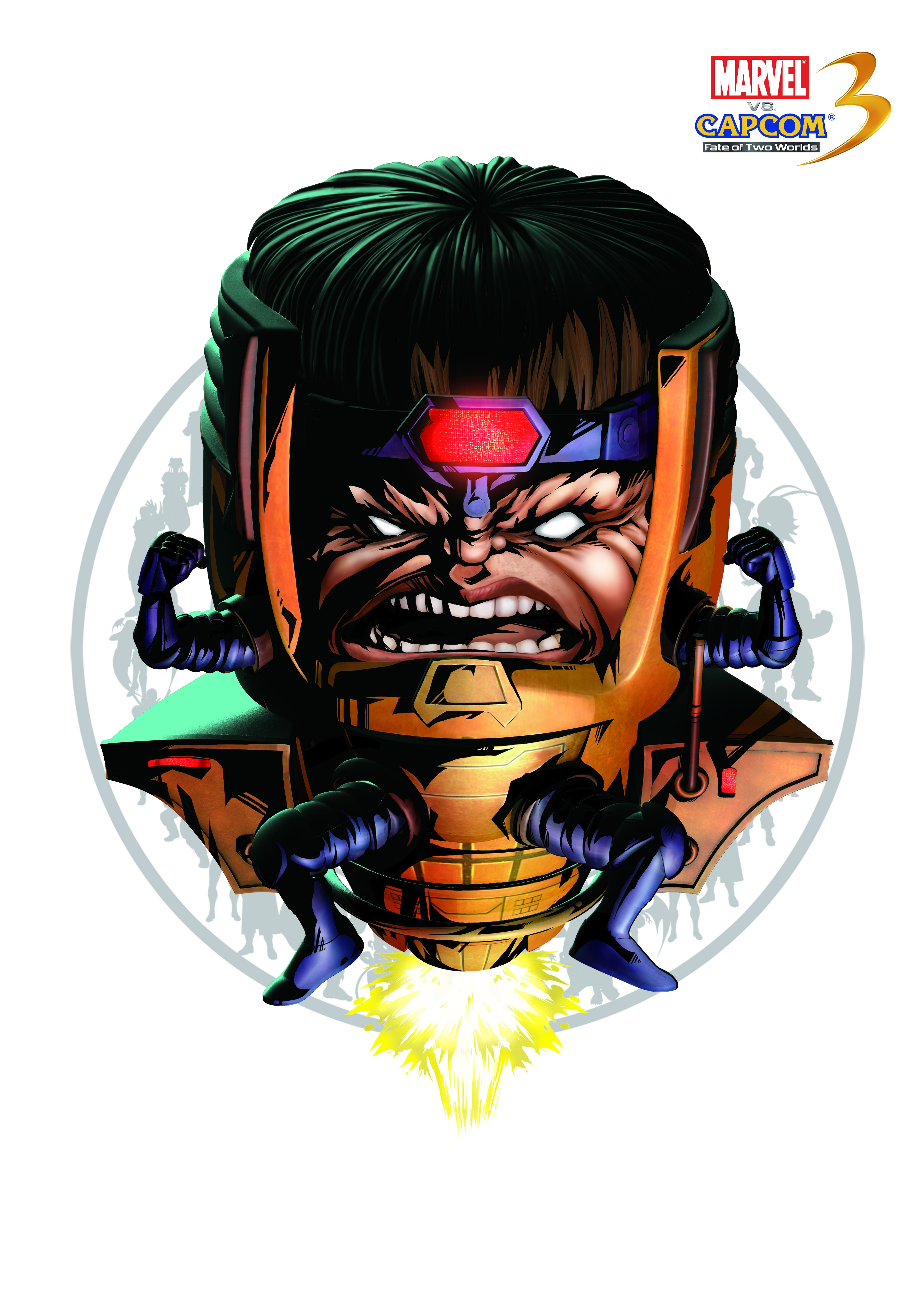 М. О. Д. О. К. - Marvel vs. Capcom 3: Fate of Two Worlds Арт, Персонаж