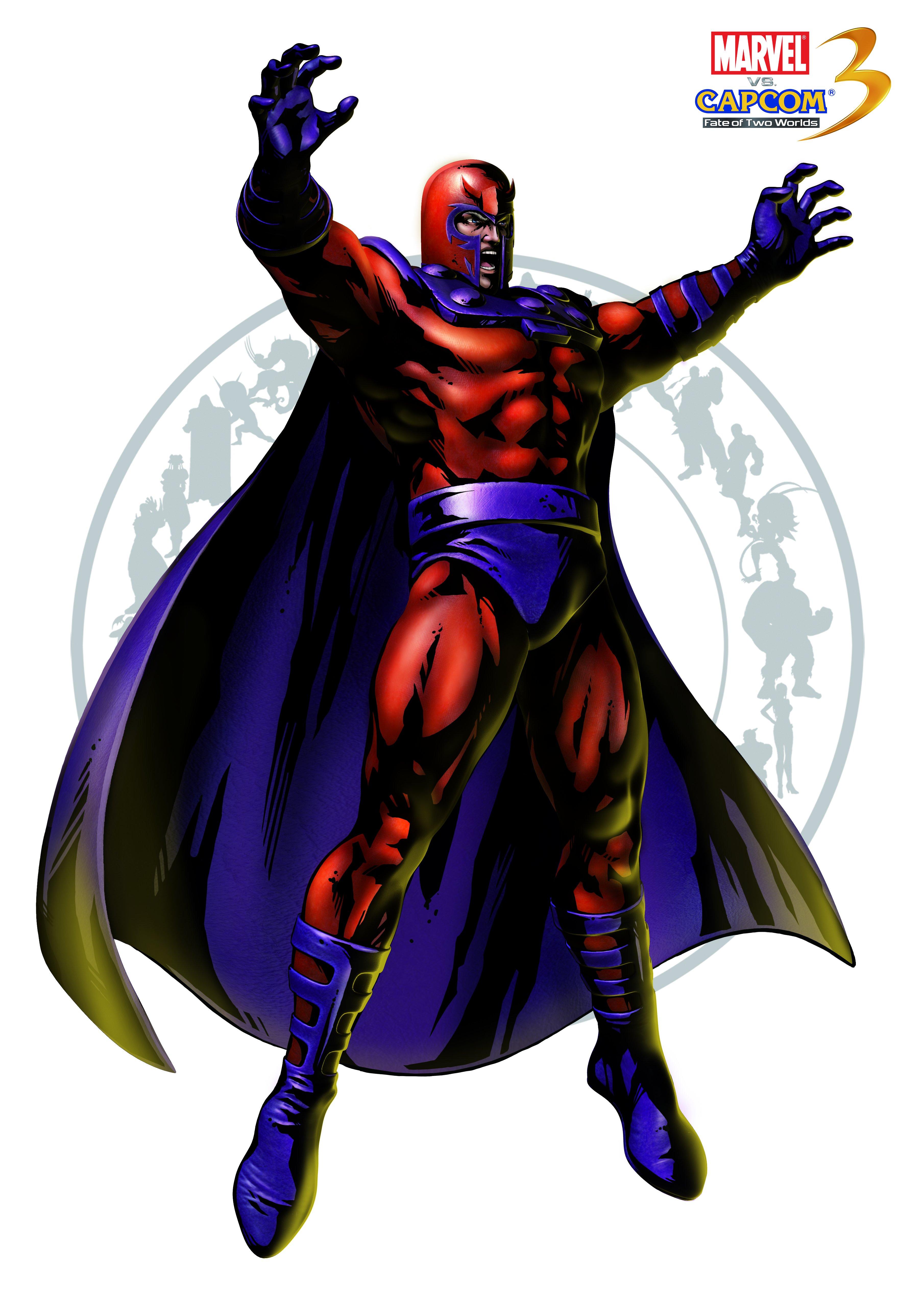 Магнето - Marvel vs. Capcom 3: Fate of Two Worlds Арт, Персонаж