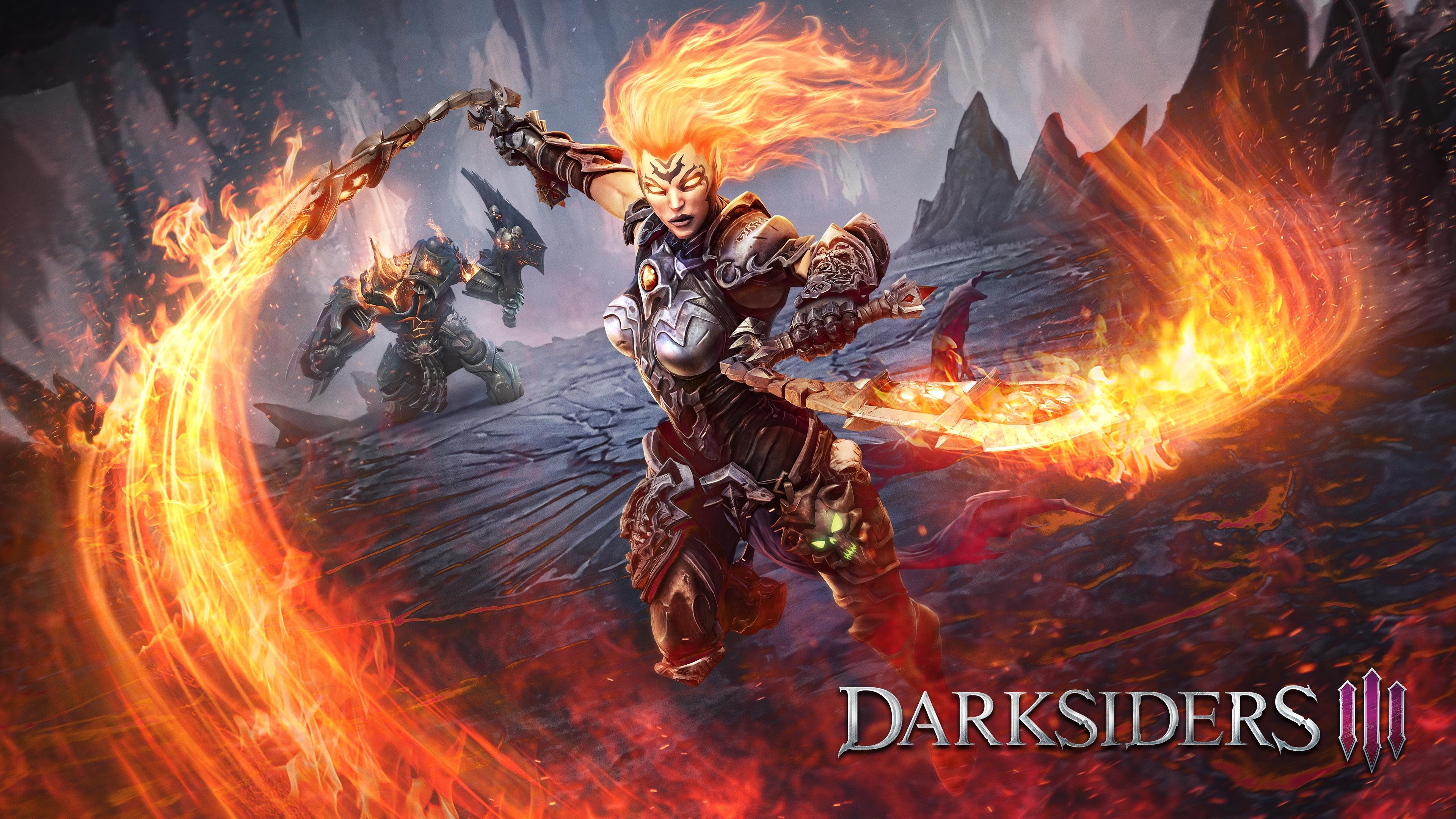 Darksiders 3 - Darksiders 3 4K, Арт