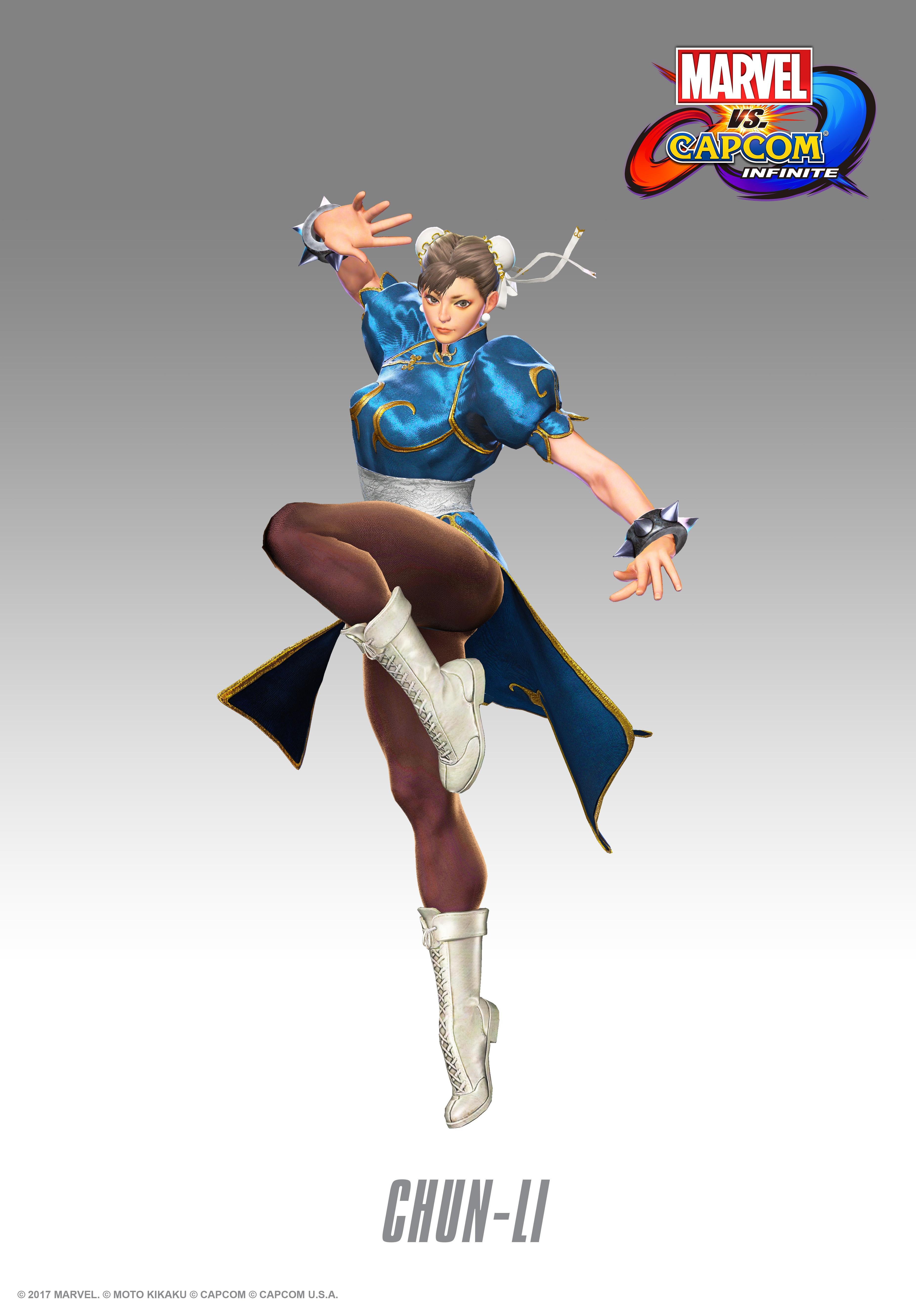 Чунь Ли - Marvel vs. Capcom: Infinite Арт, Персонаж