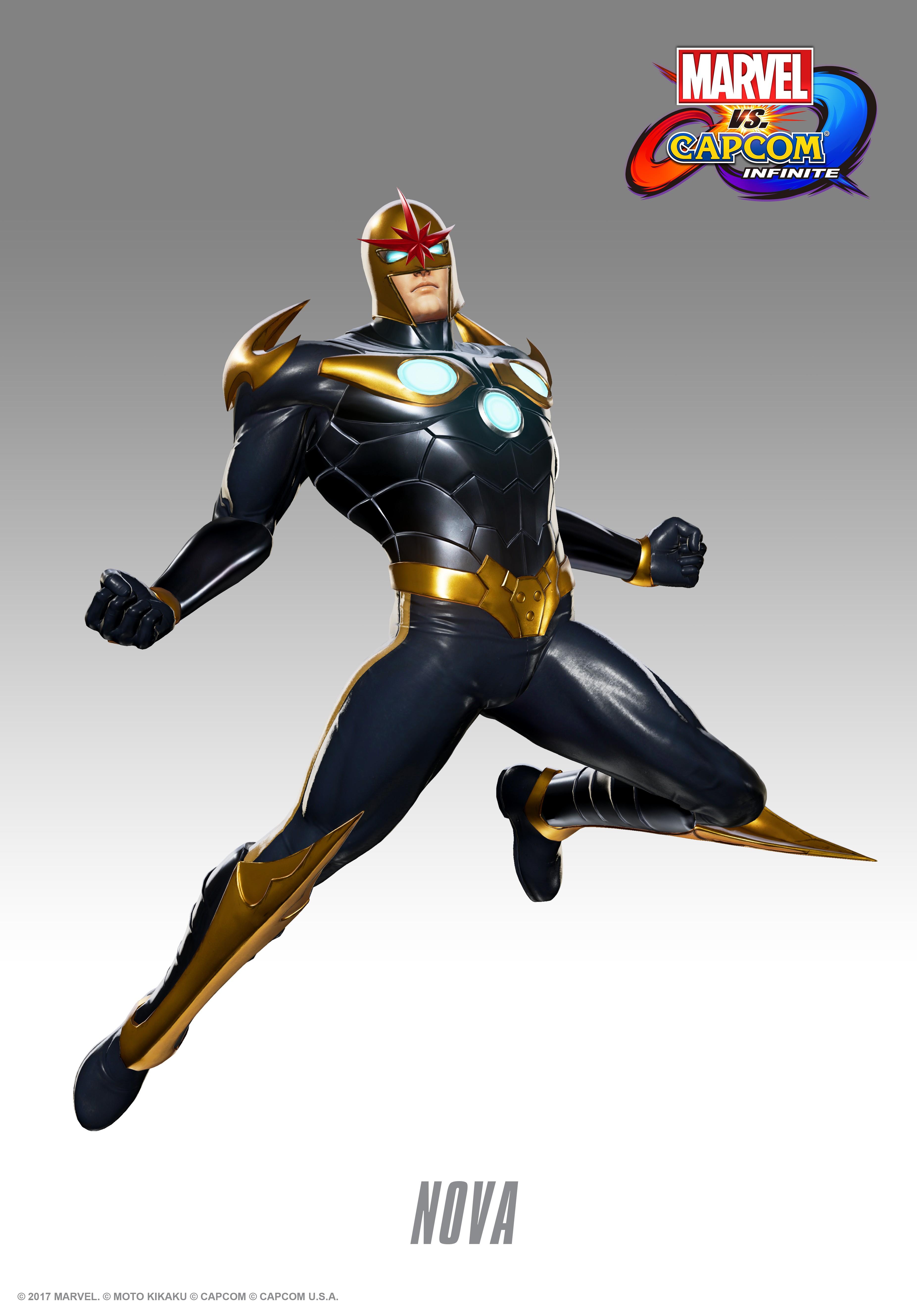 Нова - Marvel vs. Capcom: Infinite Арт, Персонаж