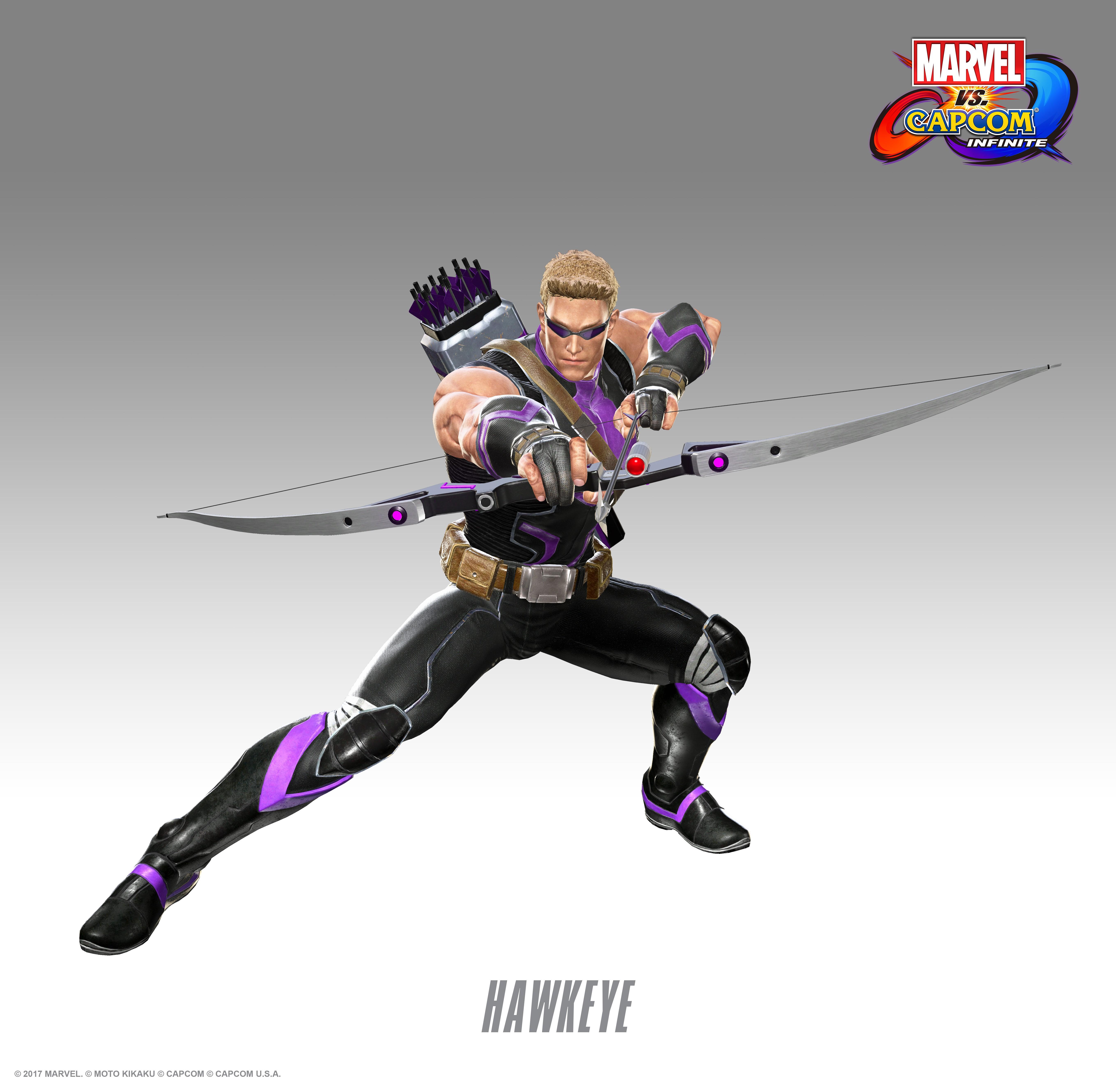 Соколиный глаз - Marvel vs. Capcom: Infinite Арт, Персонаж