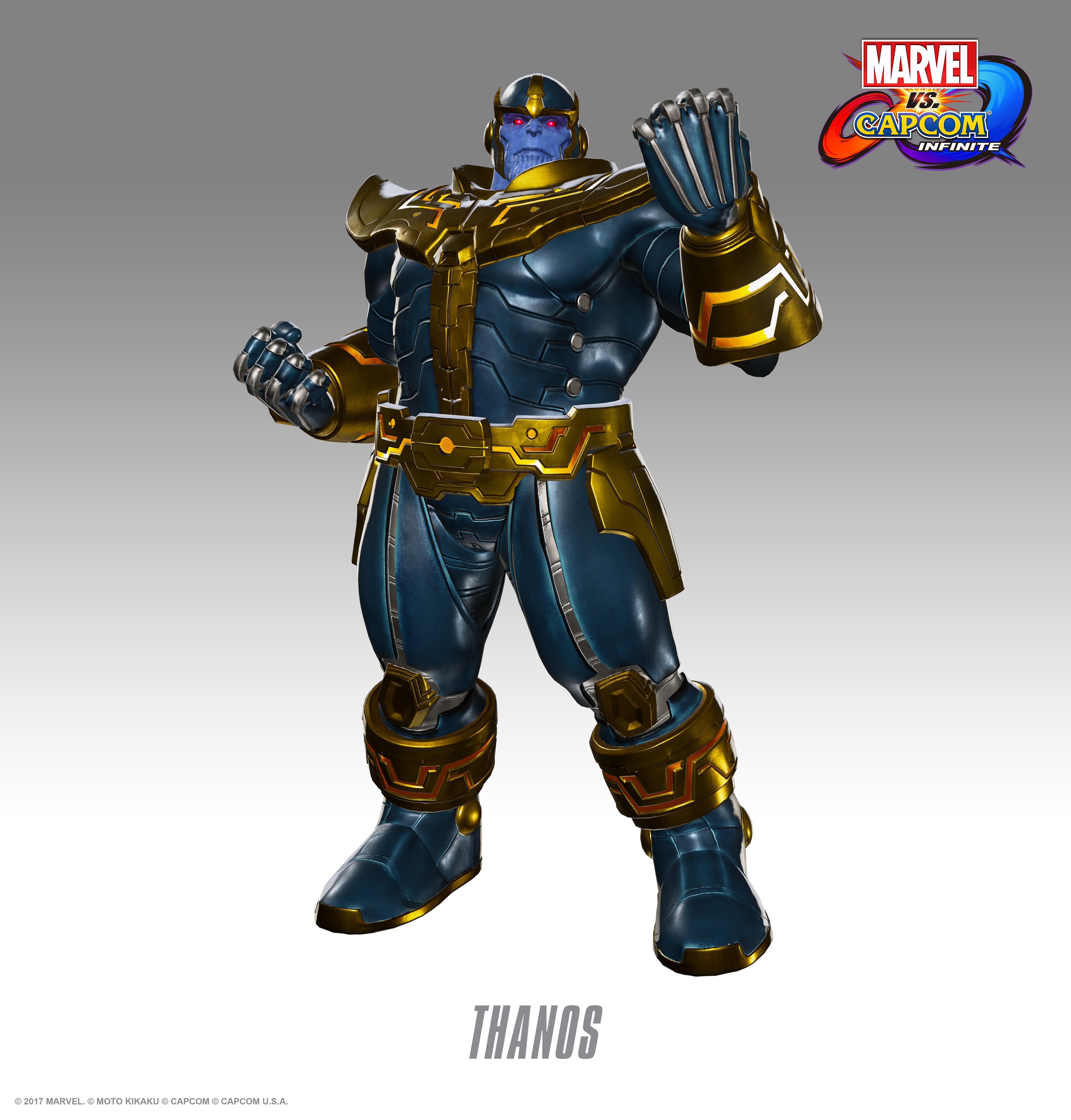 Танос - Marvel vs. Capcom: Infinite Арт, Персонаж
