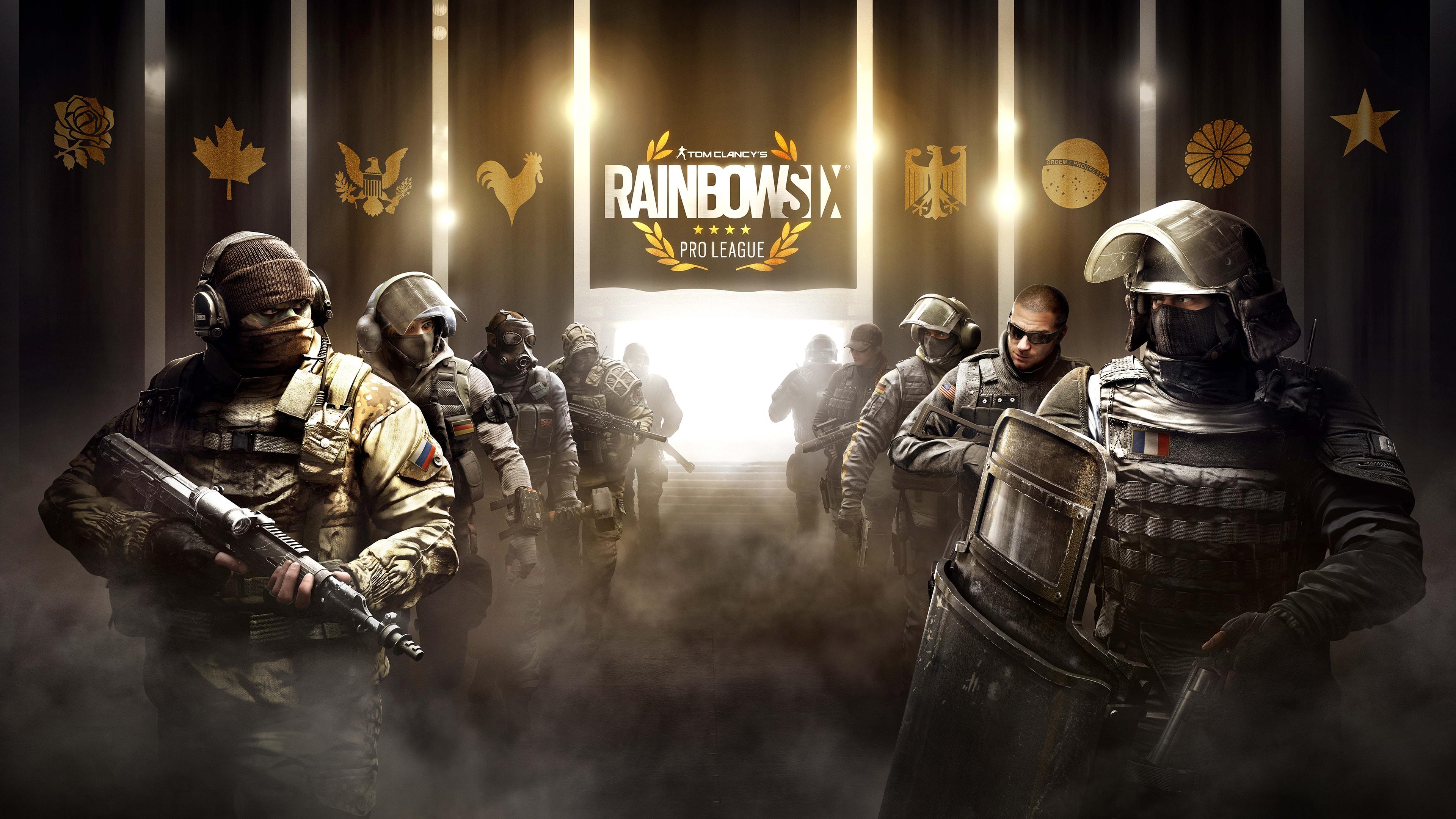 Радуга) 4К - Tom Clancy's Rainbow Six: Siege 4к