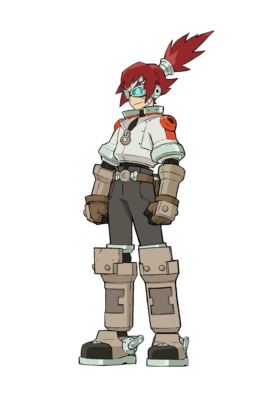 Mega Man Legends 3 - Mega Man Legends 3 Арт, Персонаж