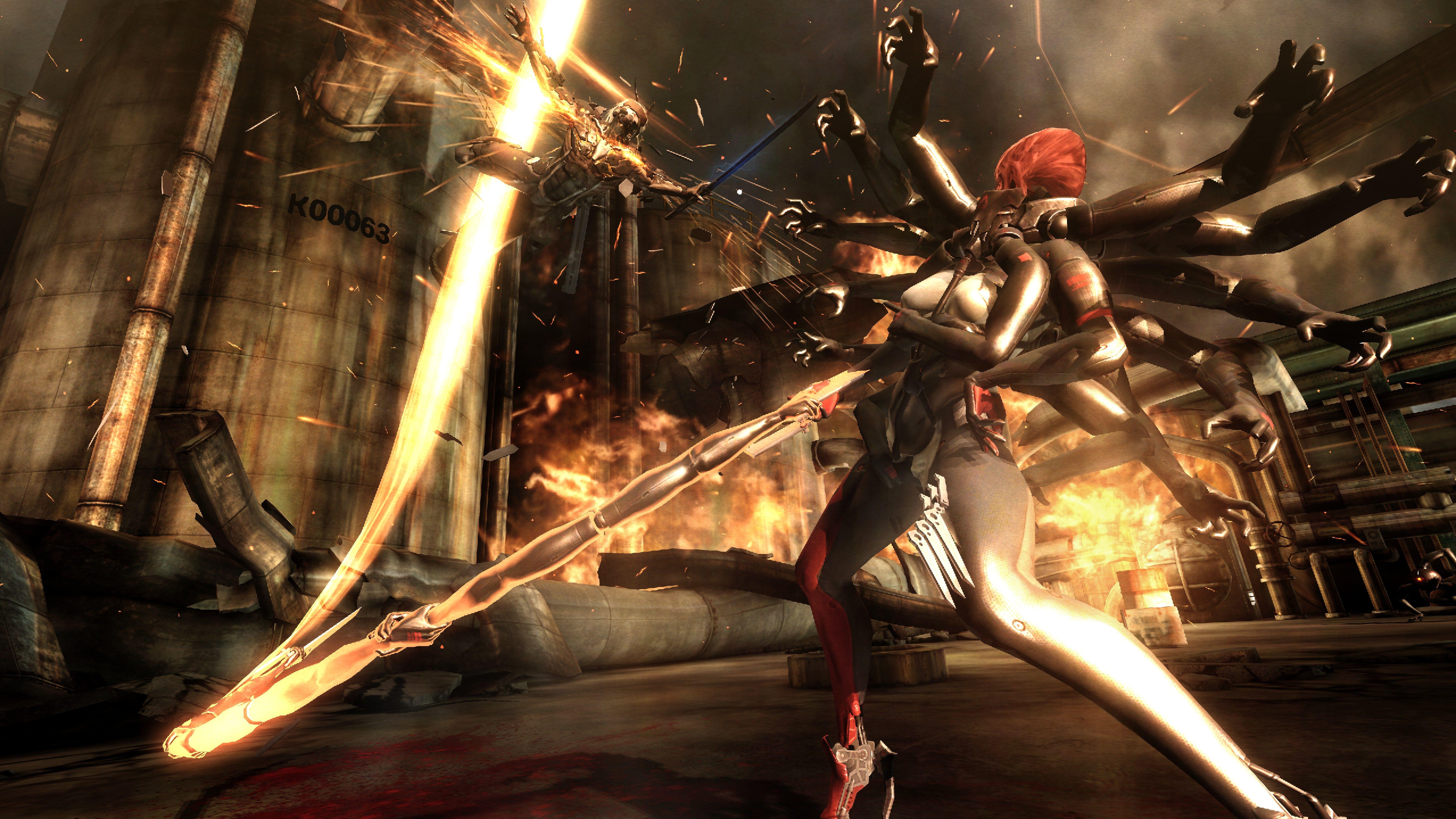 Metal Gear Rising: Revengeance - Metal Gear Rising: Revengeance 8K
