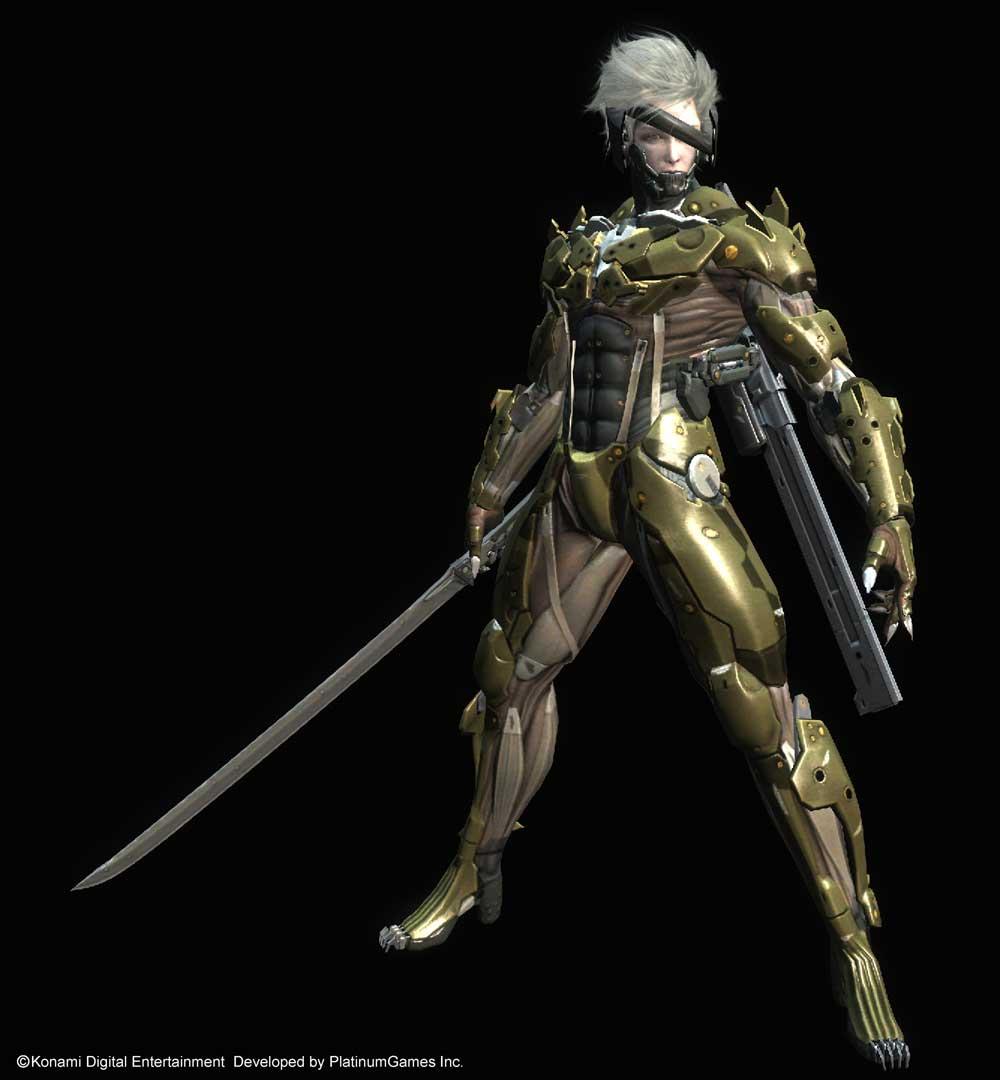 Metal Gear Rising: Revengeance - Metal Gear Rising: Revengeance Арт, Персонаж