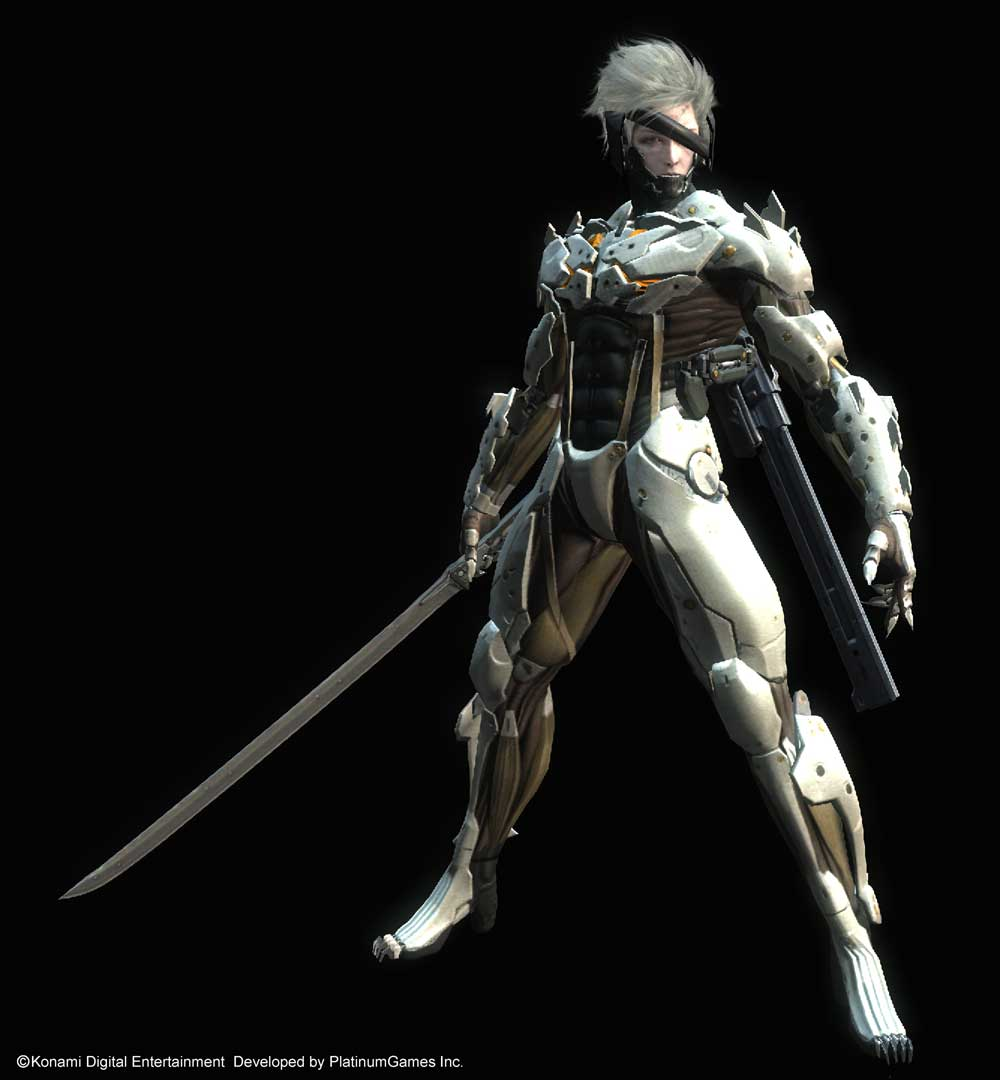 Metal Gear Rising: Revengeance - Metal Gear Rising: Revengeance Арт, Персонаж
