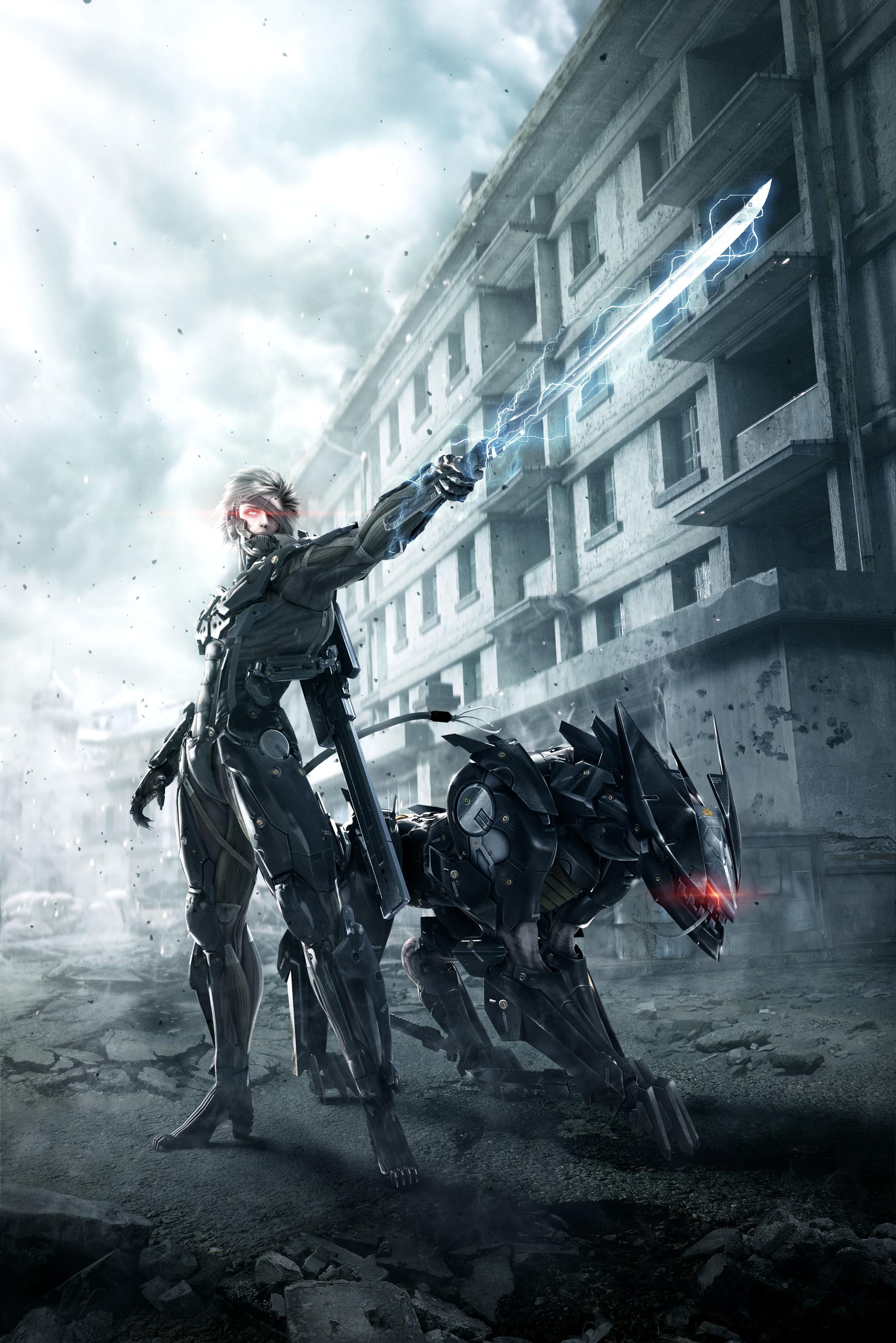 Metal Gear Rising: Revengeance - Metal Gear Rising: Revengeance Арт