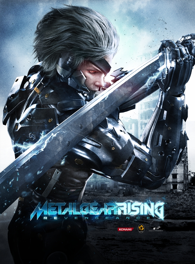 Metal Gear Rising: Revengeance - Metal Gear Rising: Revengeance Арт